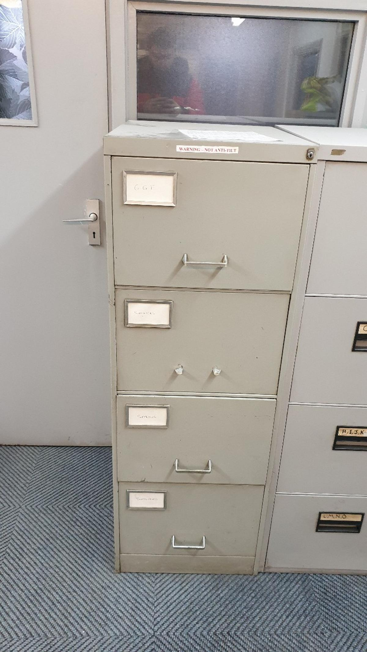 Picture of: Metal Filing Cabinets In Ls11 Leeds For 40 00 For Sale Shpock