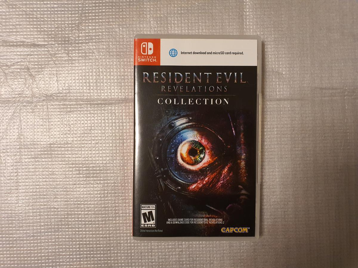 Nintendo Switch Resident evil Revelation 1 + 2  Pick up only at E65NE my house or I can meet at canning town station  Fully working condition .  The price is fixed. silly offers ignored.