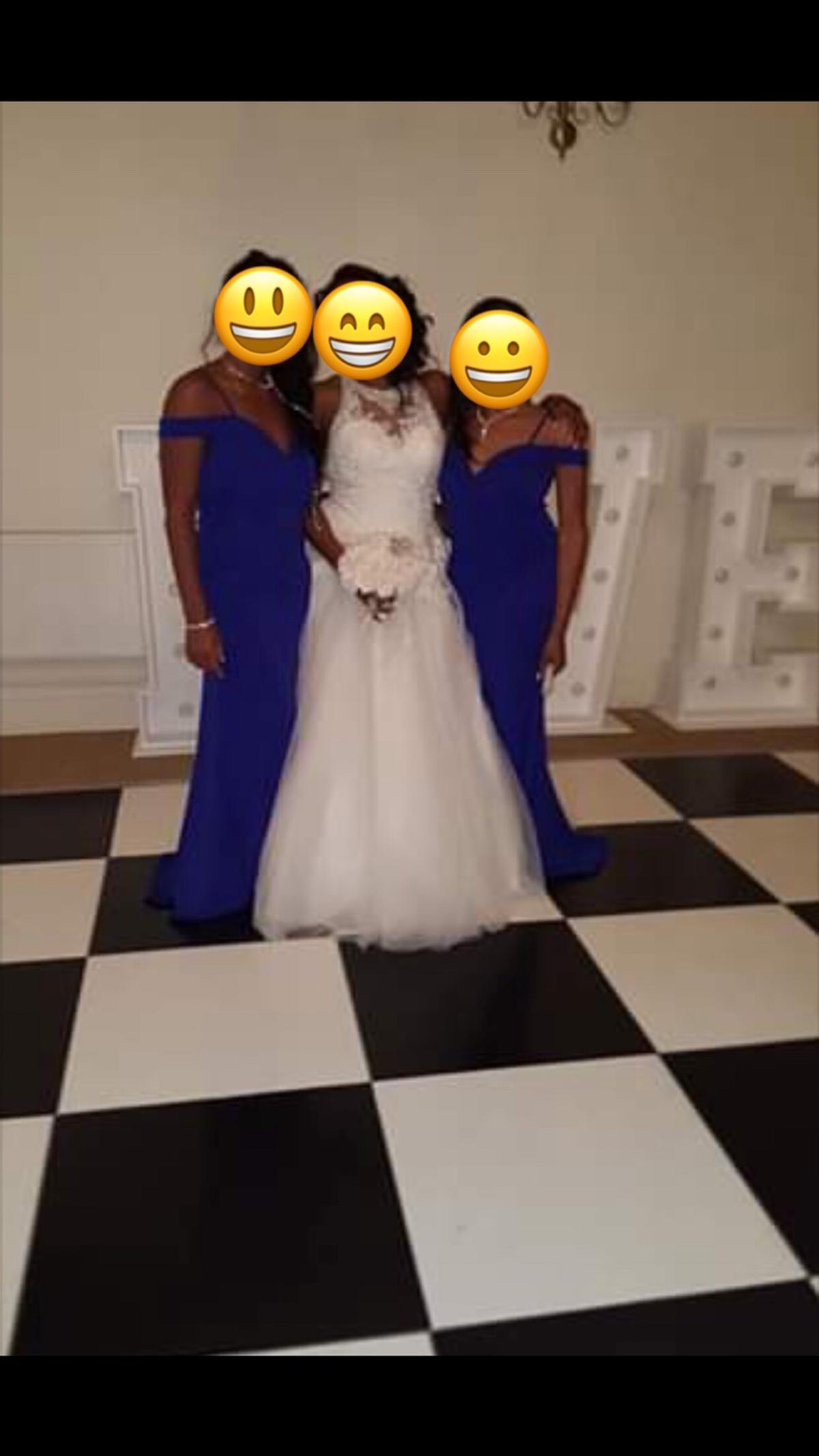 Bridesmaid Royal Blue Maxi Dress In B23 Birmingham For 20 00 For Sale Shpock
