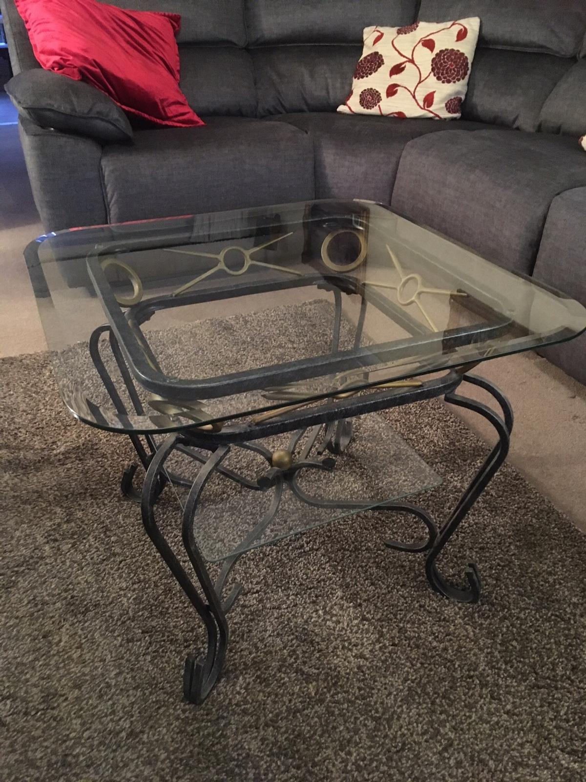 Two Glass Coffee Tables In B90 Solihull For 150 00 For Sale Shpock