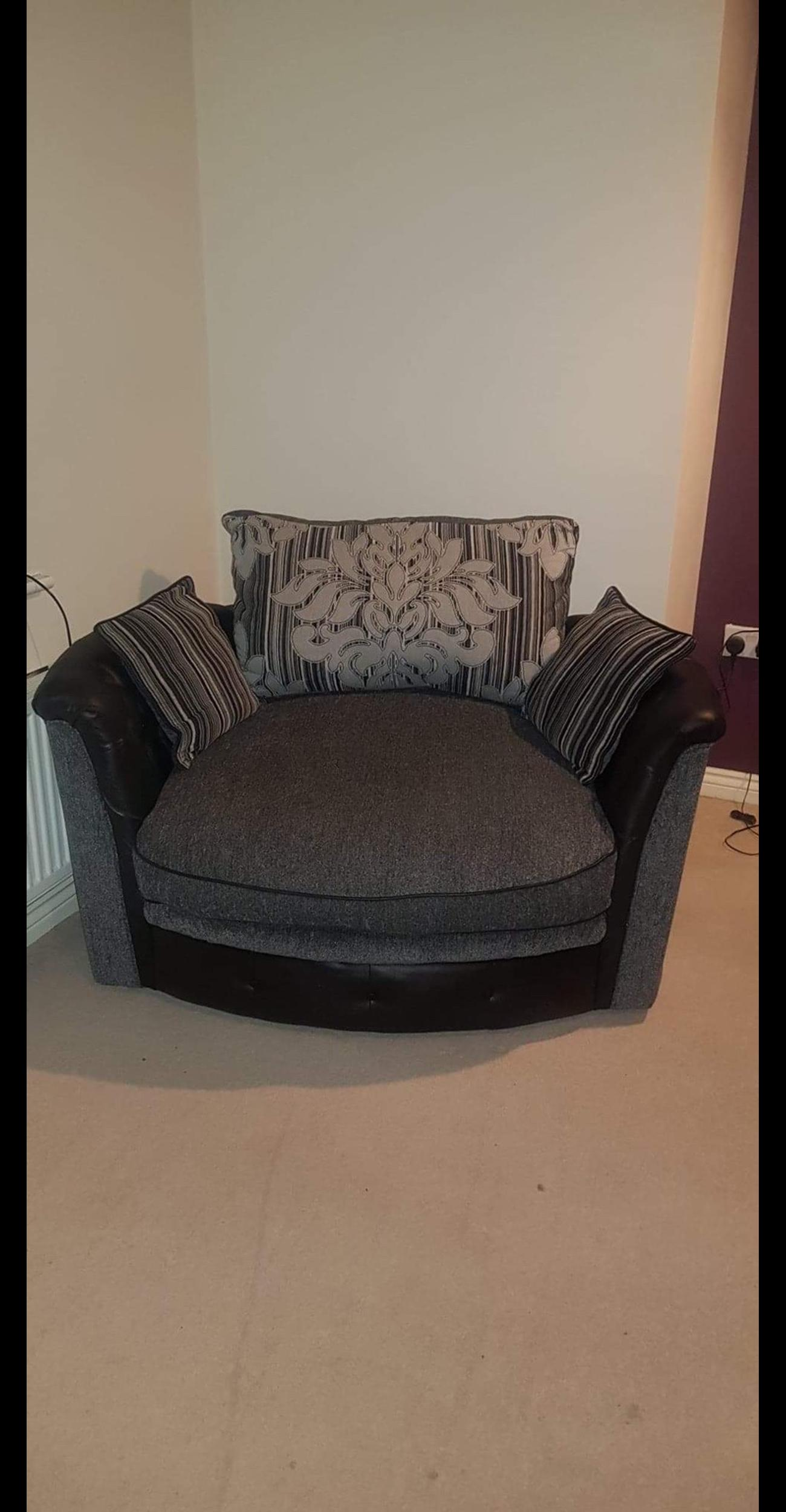 Swivel cuddle chair offers accepted in DE24 Derby for £100 ...