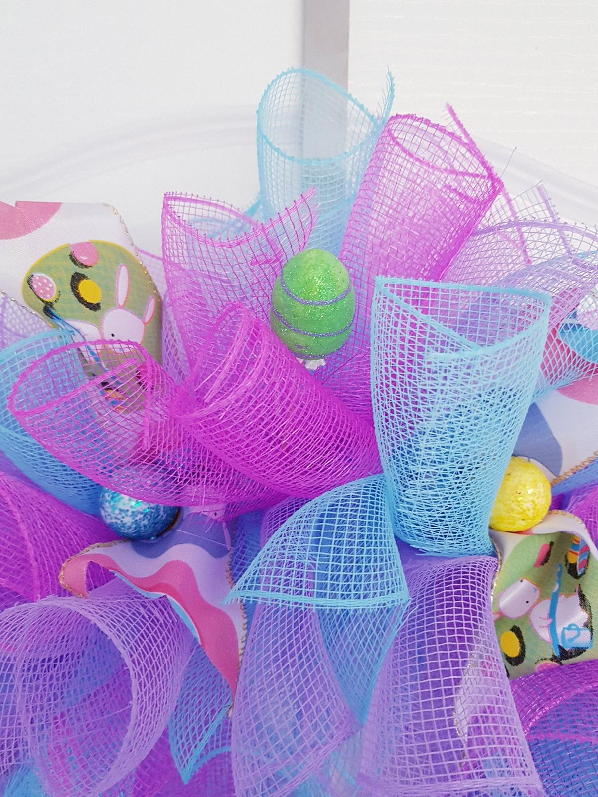 Easter Deco Mesh Wreath In Cf48 Pant For 20 00 For Sale Shpock