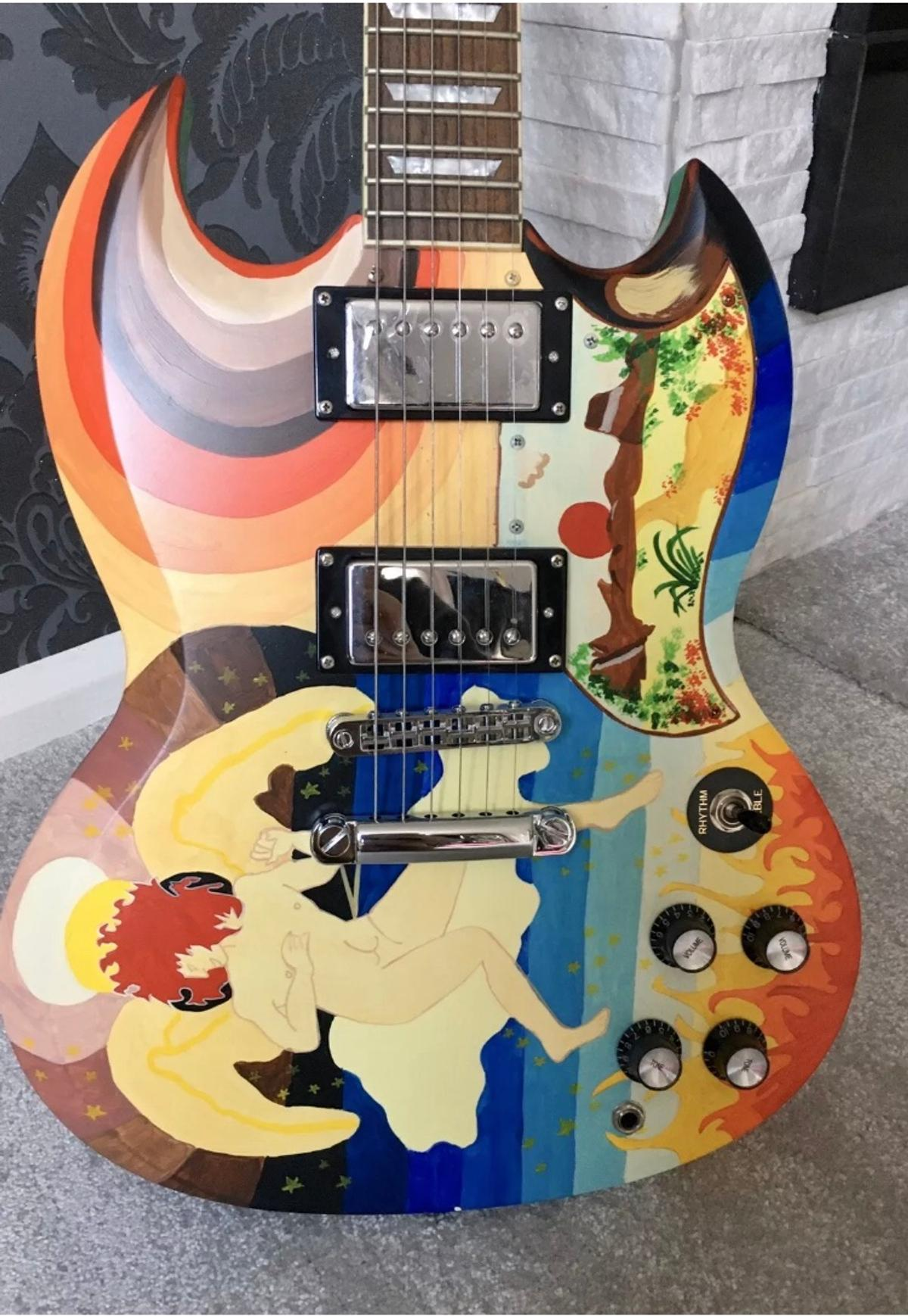 Eric Clapton The Fool Guitar With Case In Hd6 Calderdale For 750 00 For Sale Shpock