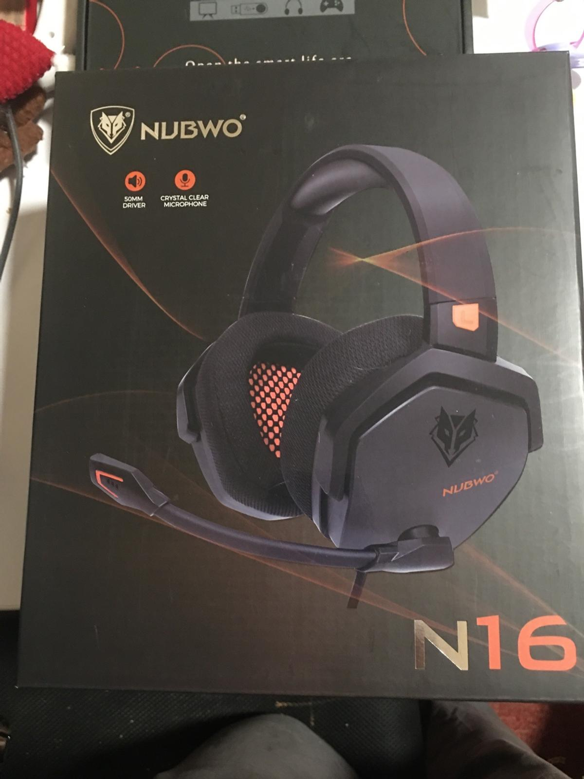 NUBWO PS4 Headset Xbox one Stereo
