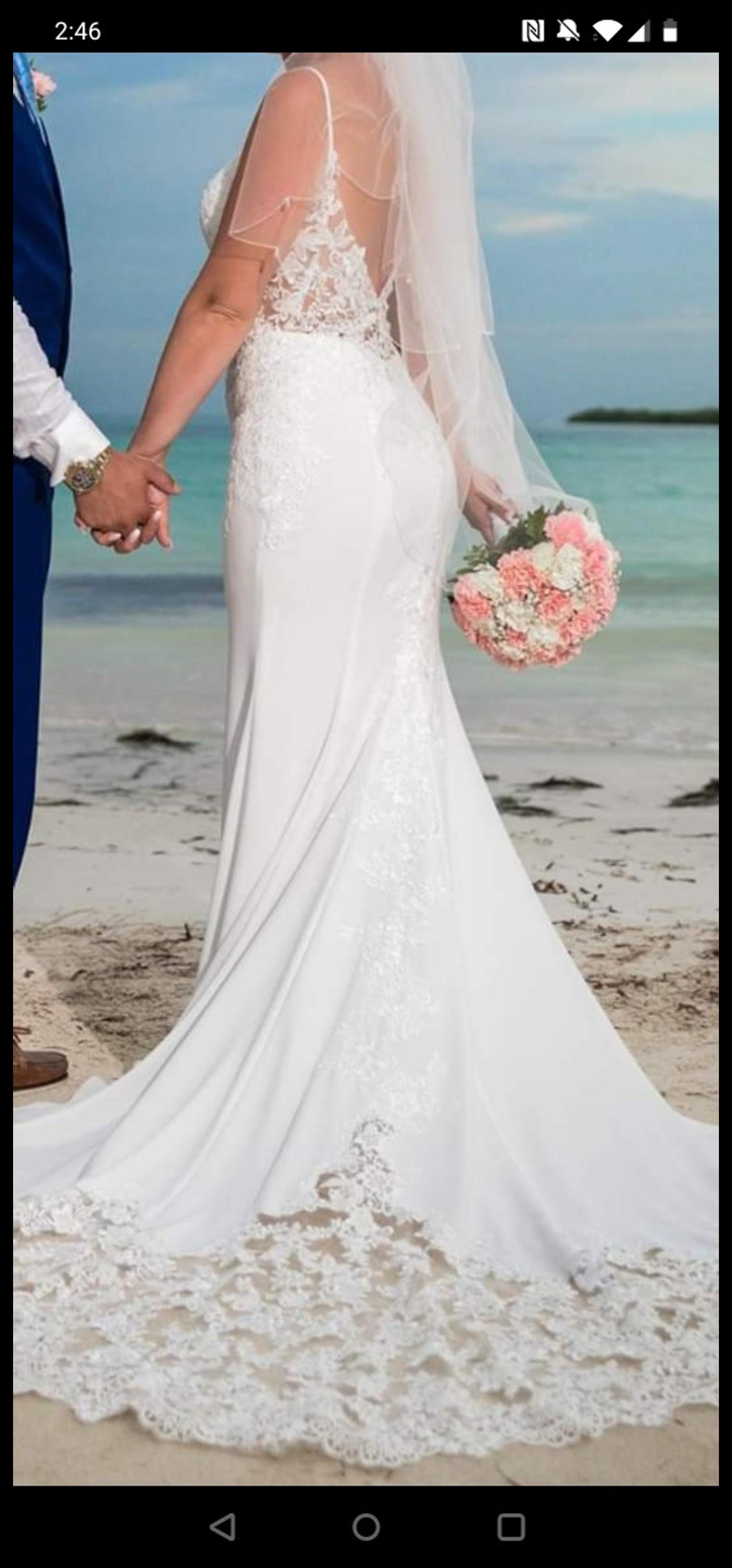 Wed2b Hayden Wedding Dress In Ng15 Ashfield For 300 00 For Sale