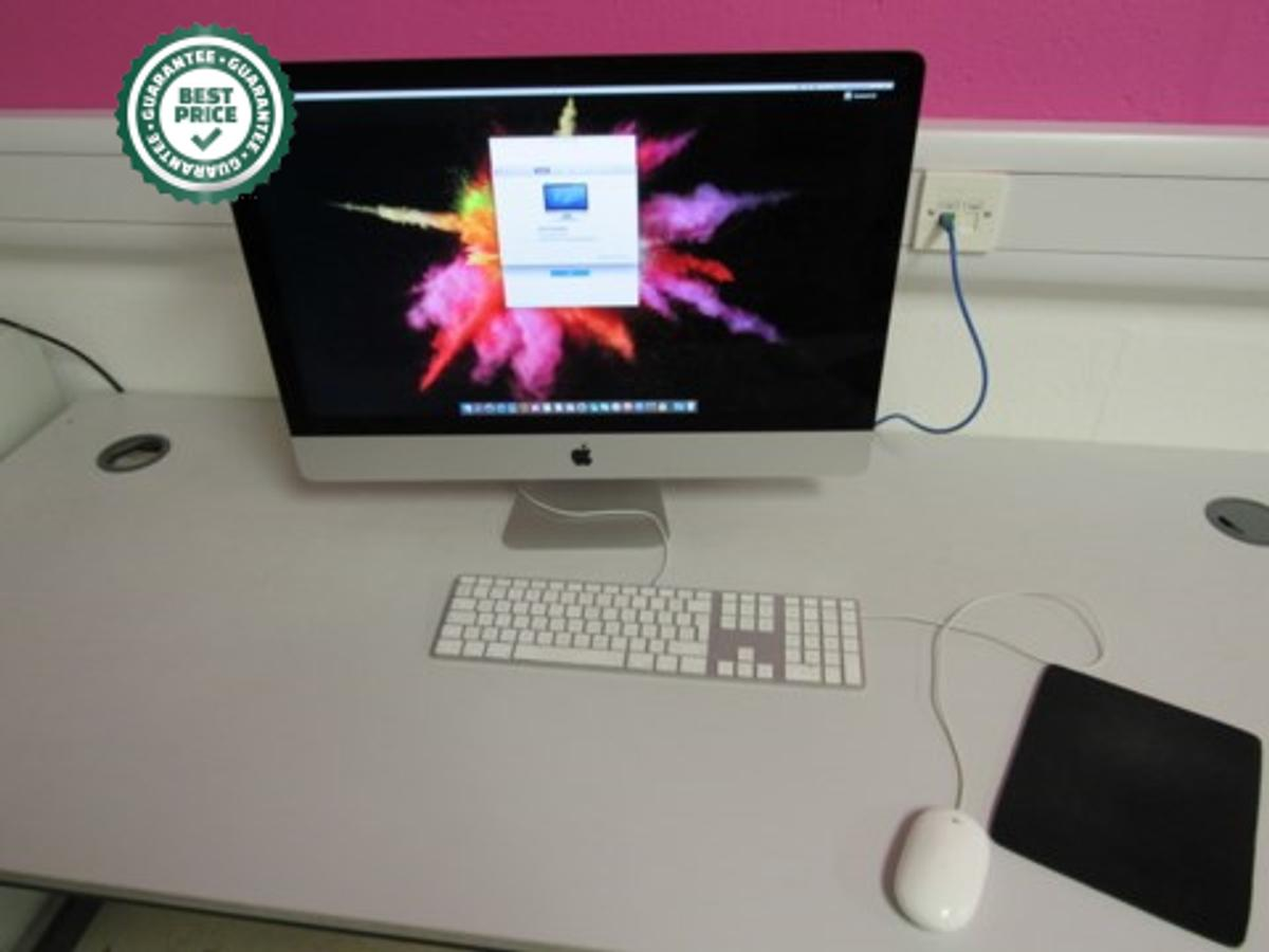 Imac 27Inch Screen, Processor 3.5GHz Intel Core i7, Memory 32GB 1600MHz DDR3, Graphics NVIDIA GeForce GTX 780M 4096MB, With Keyboard and Mouse  due in 31st Jan