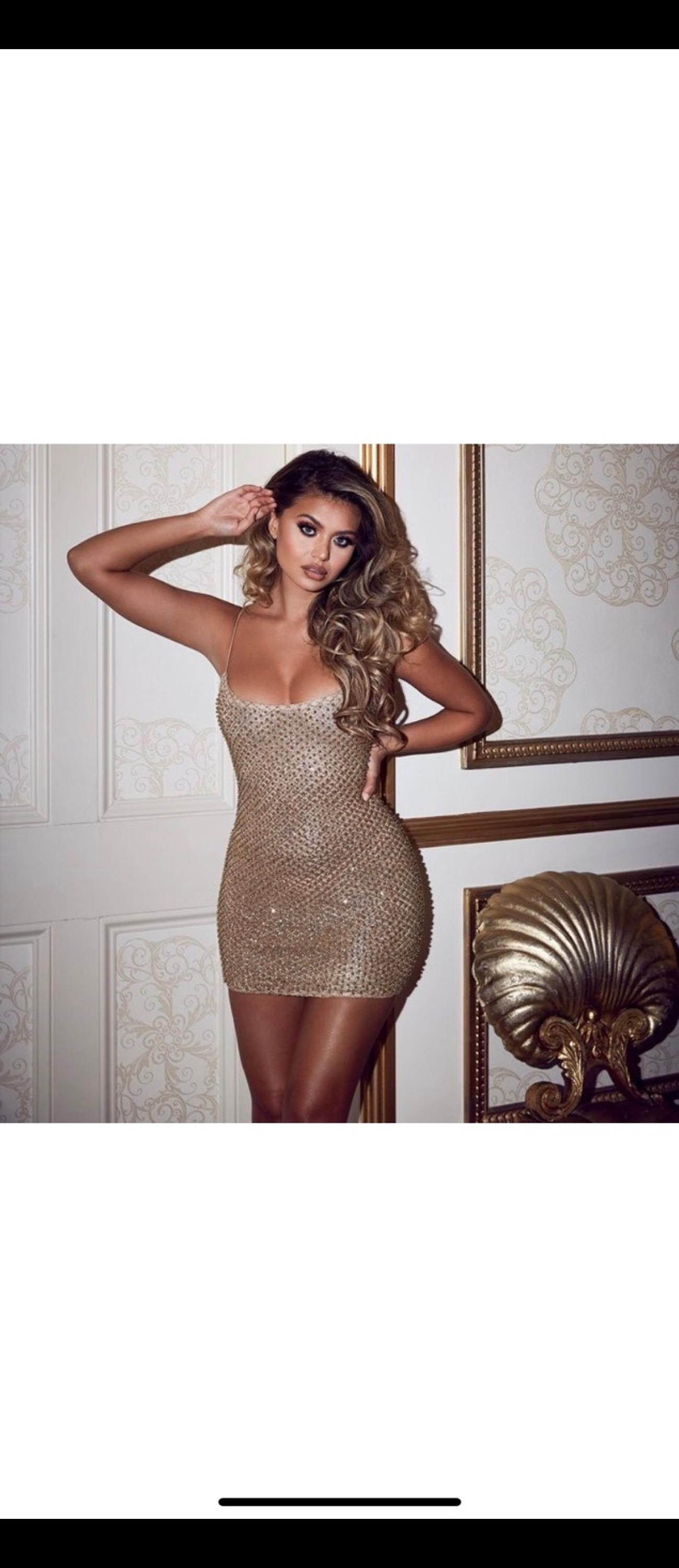 Oh Polly Drop A Glint Embellished Mini Dress In N1 Hackney For 40 00 For Sale Shpock