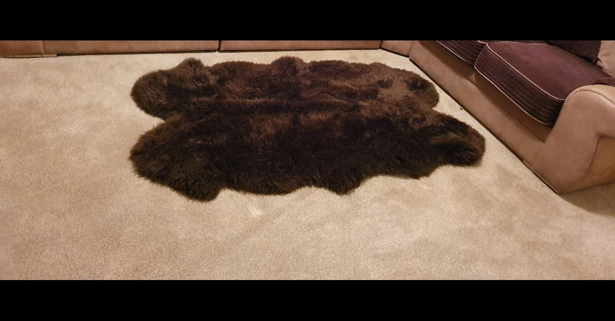 Fur Rug in Nuneaton and Bedworth for