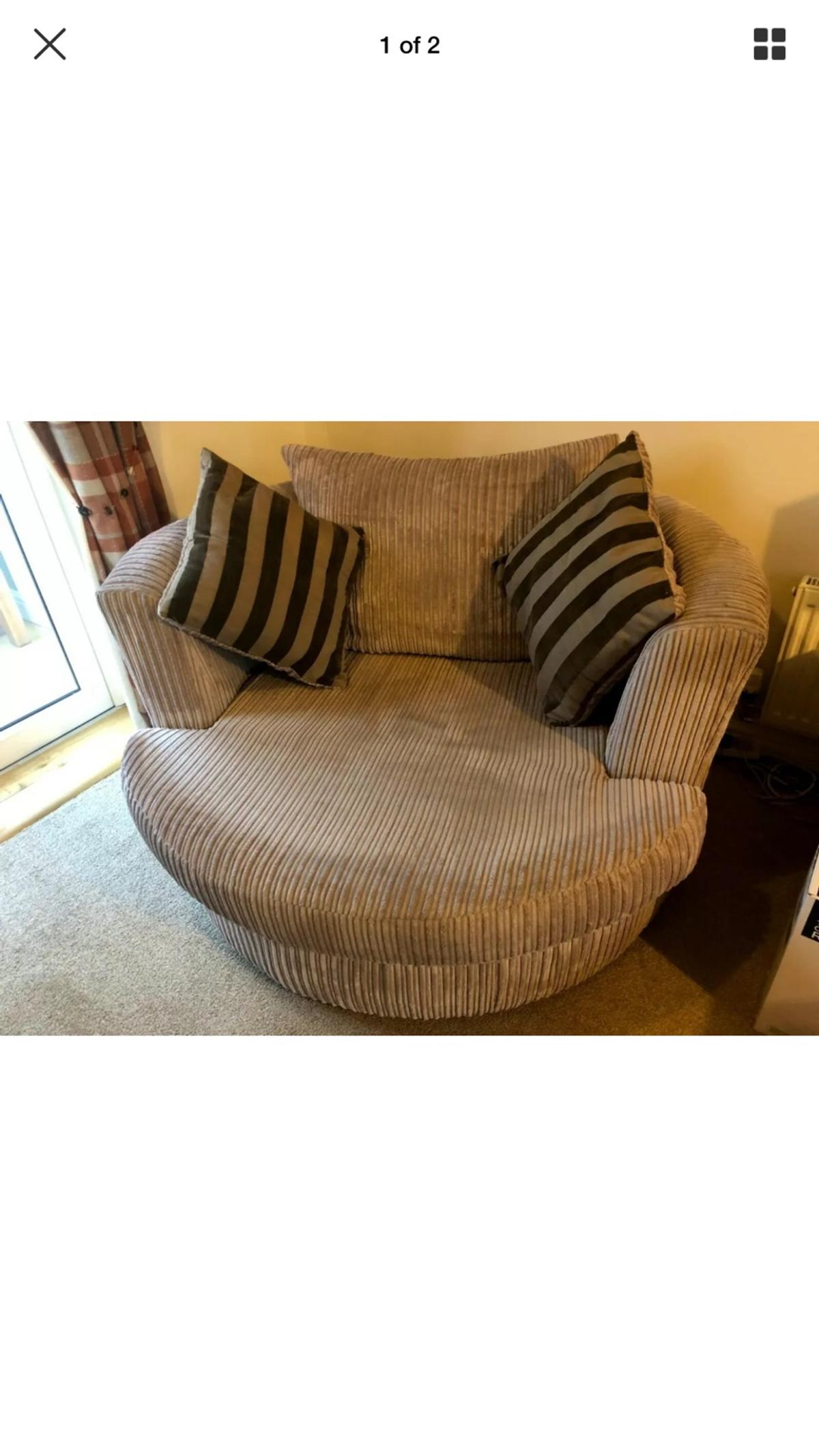 Swivel cuddle chair in Gillingham for £50.00 for sale | Shpock
