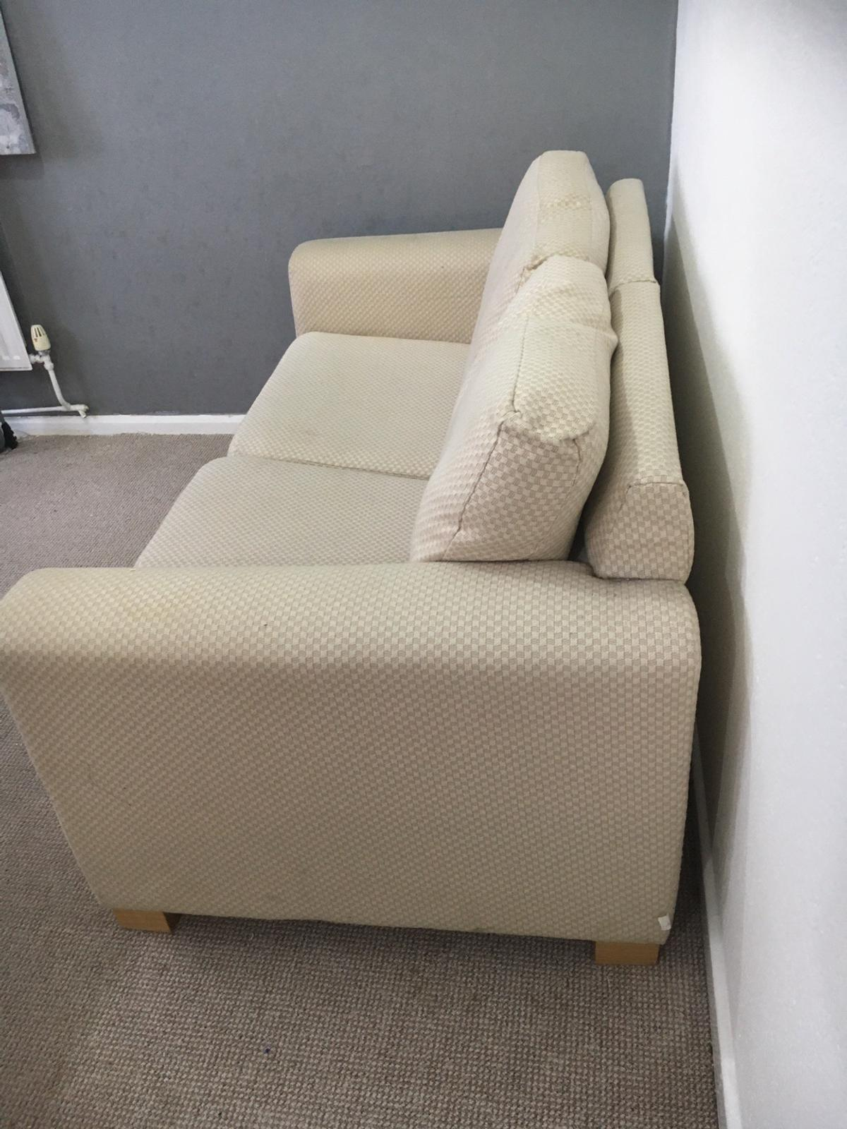 Double Cream Sofa Bed In M13 Manchester For £180.00 For