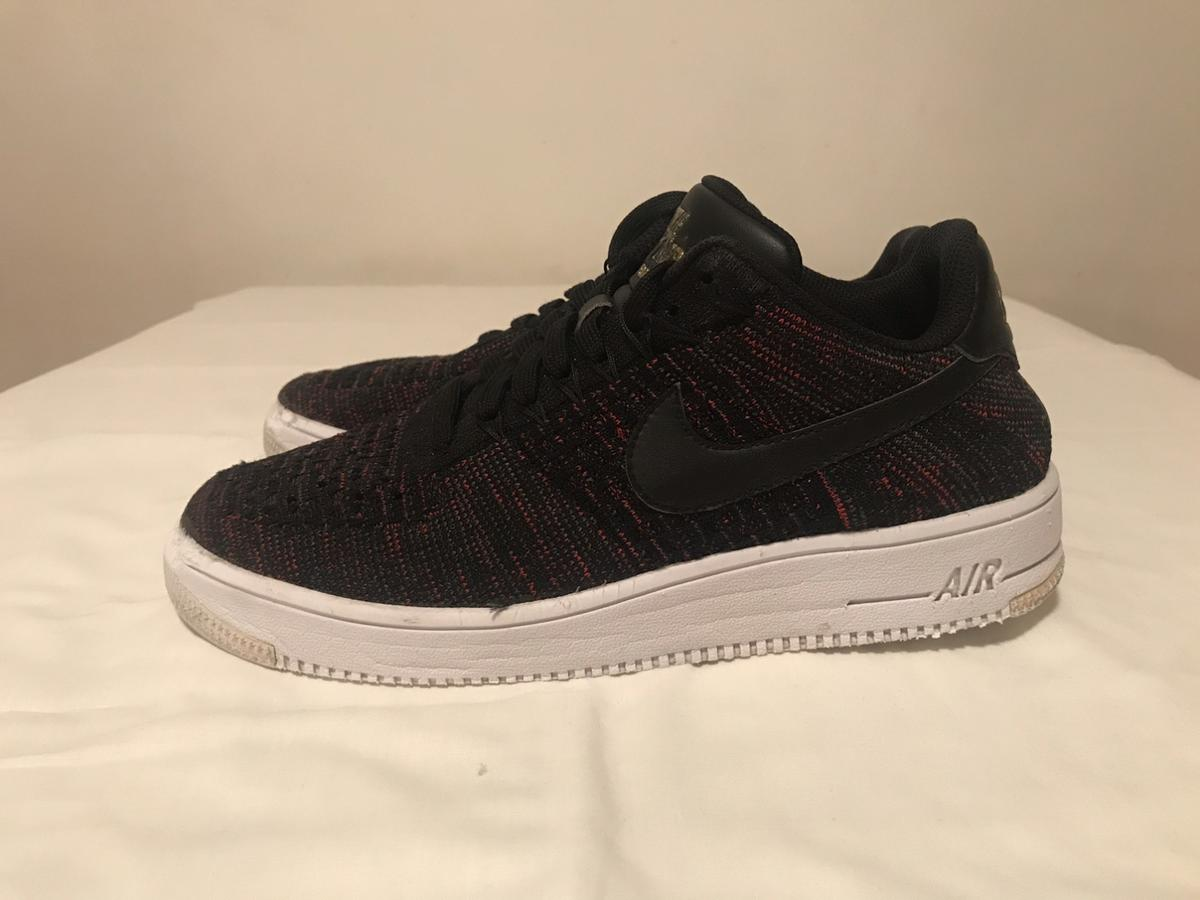 Fsr Nike Air Force 1 07 Lv8 Lichee Pattern Black And White