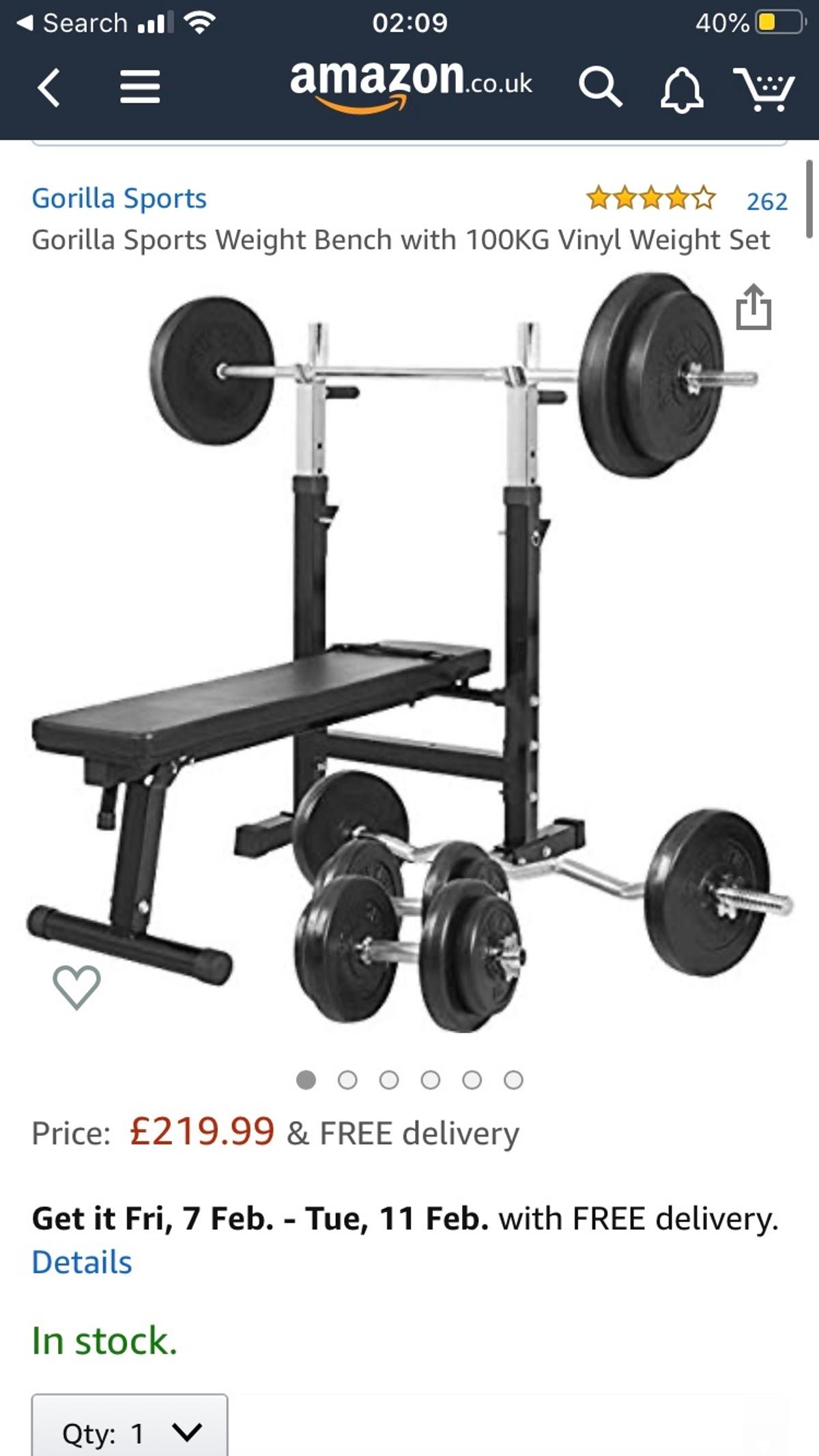 Bench Press Weights Bundle In Wd4 Rivers For 125 00 For Sale Shpock
