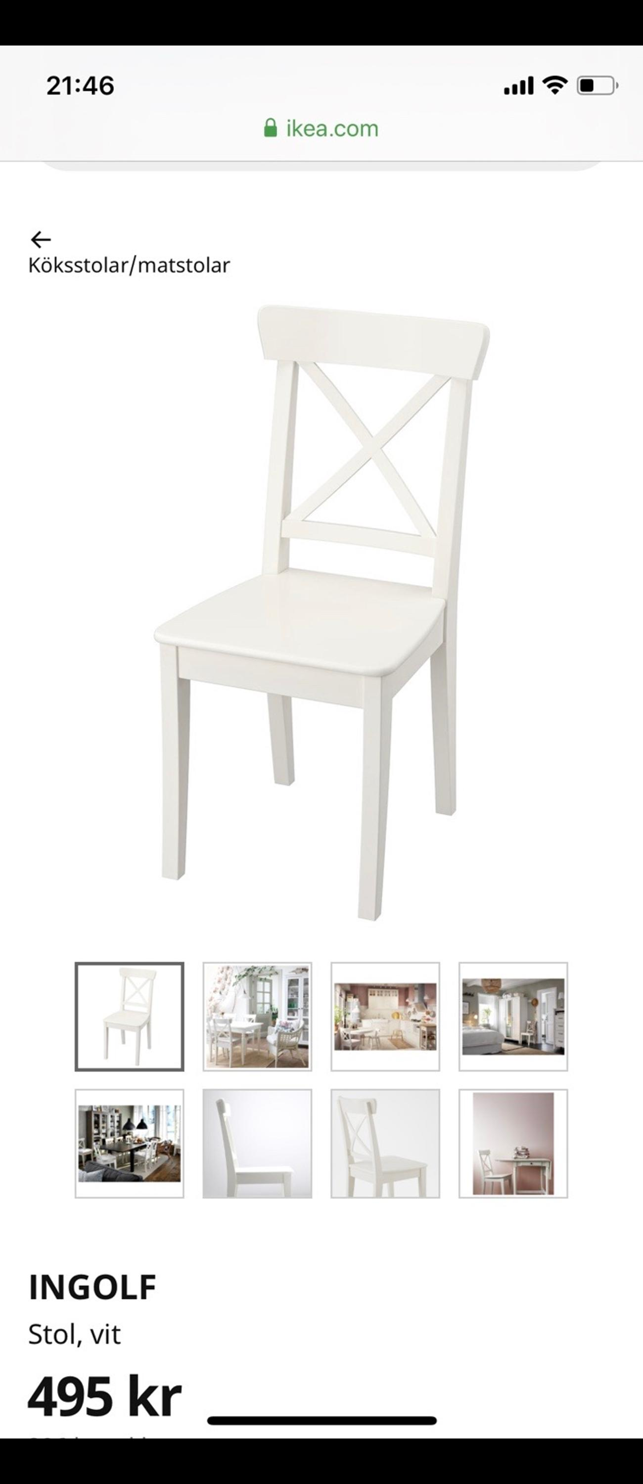 Picture of: Tva Ikea Stolar Ingolf Dynor In 111 24 Stockholm For Sek 395 00 For Sale Shpock
