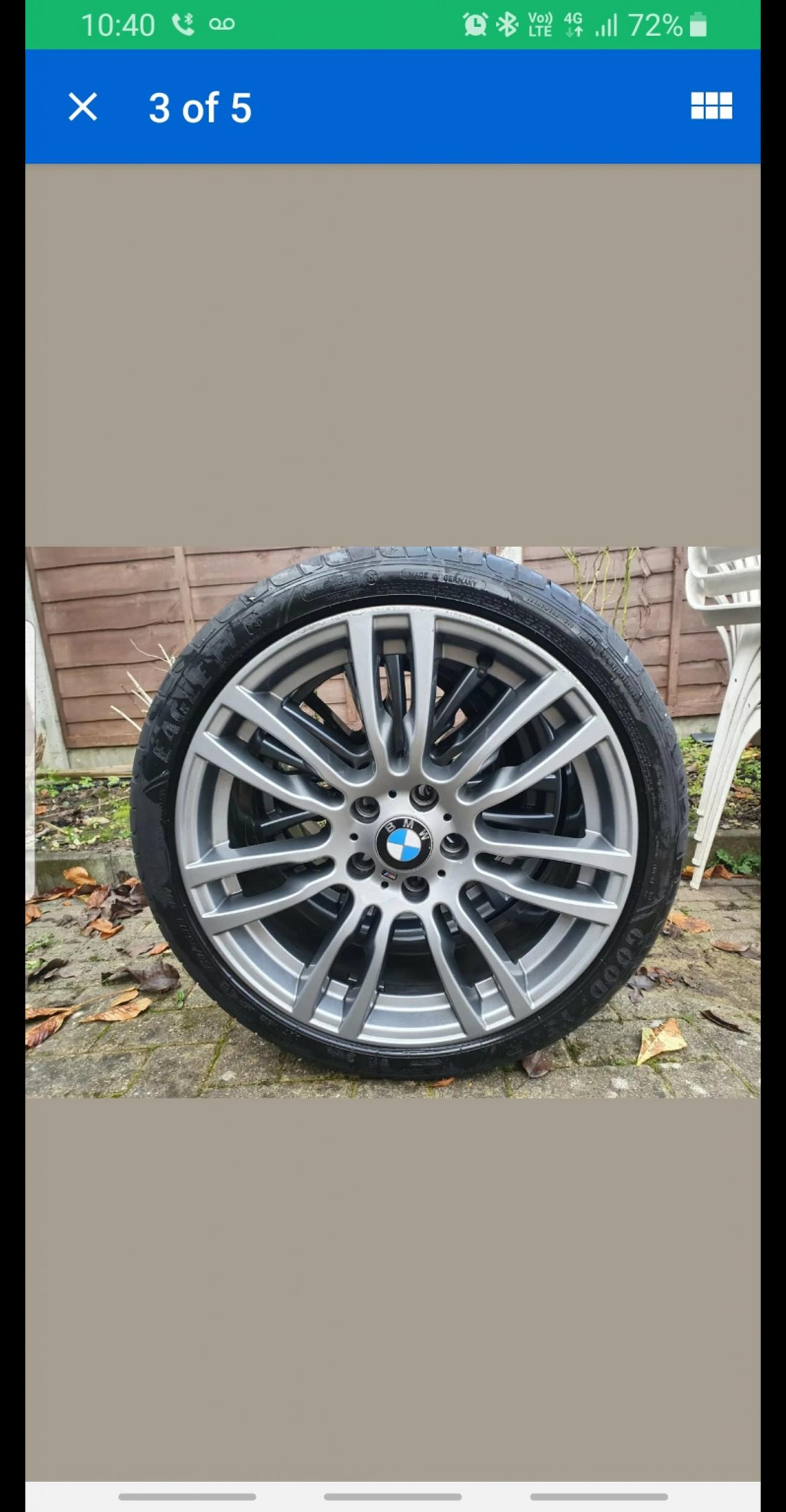 Bmw F30 M Sport Wheels 19inch In Aylesbury For 370 00 For Sale Shpock