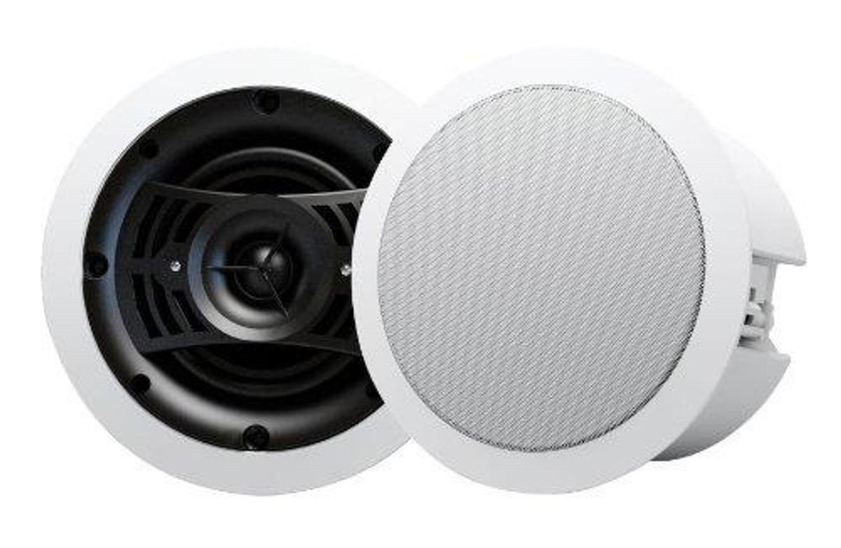 LOUDSPEAKER DIMENSIONS 230 x 128mm (9 x 5); CUTOUT SIZE: 200mm (7 7/8) POWER HANDLING: 30W RMS; WOOFER: 6.5; TWEETER: 1 Silk SPEAKER TERMINALS: Bare-wire spring type; NOMINAL IMPEDANCE: 8 ohms; SENSITIVITY: 90dB (1w/1m) FREQUENCY RESPONSE: 70Hz-20kHz; COLOUR: White;