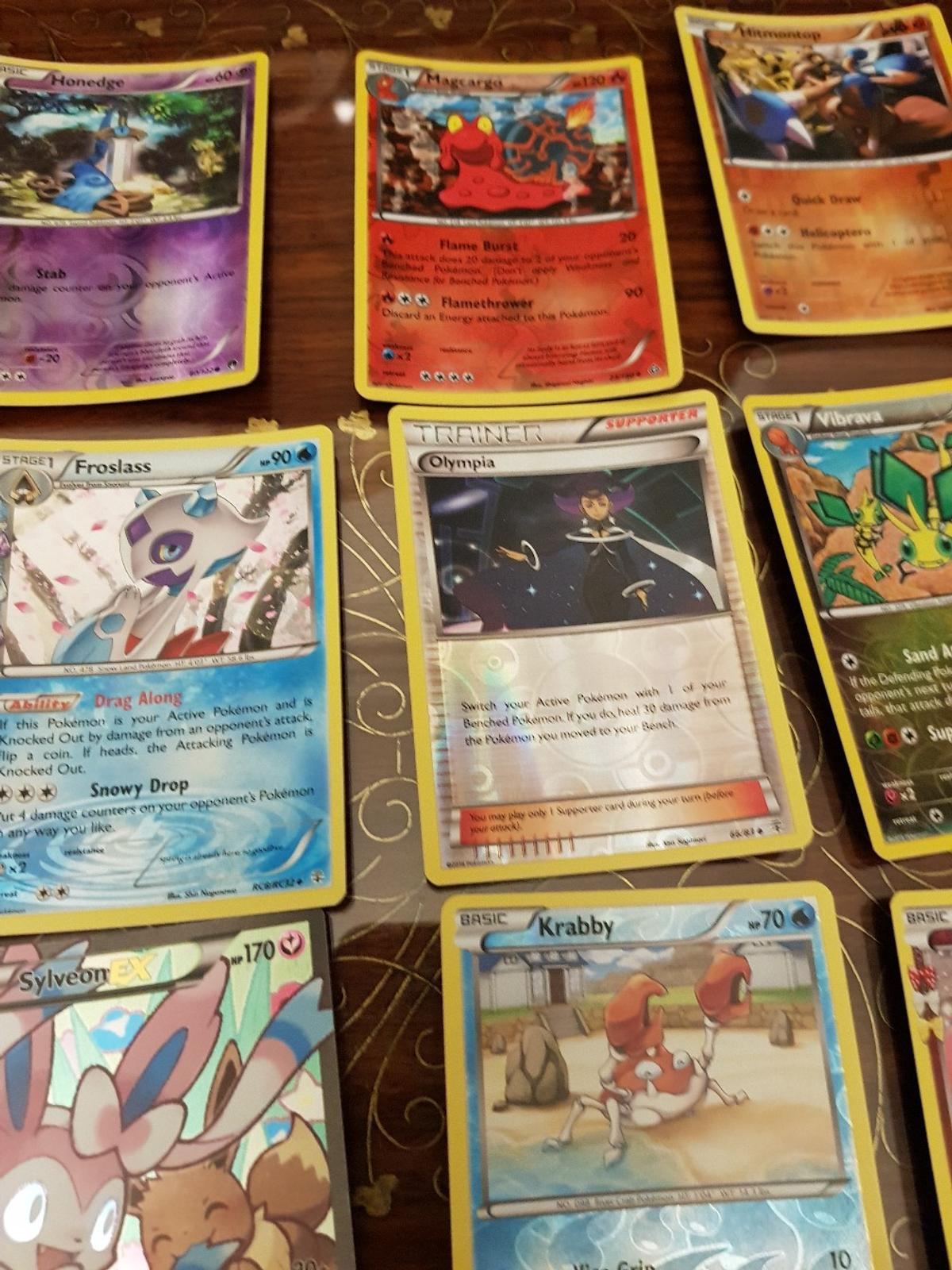 For sale are all of the above 22 pokemon cards which are all holographic from various sets. all genuine cards. NOT FOR FREE open to a decent offer for a straight forward sale Check out my other items for fantastic box fresh conditon pokemon items