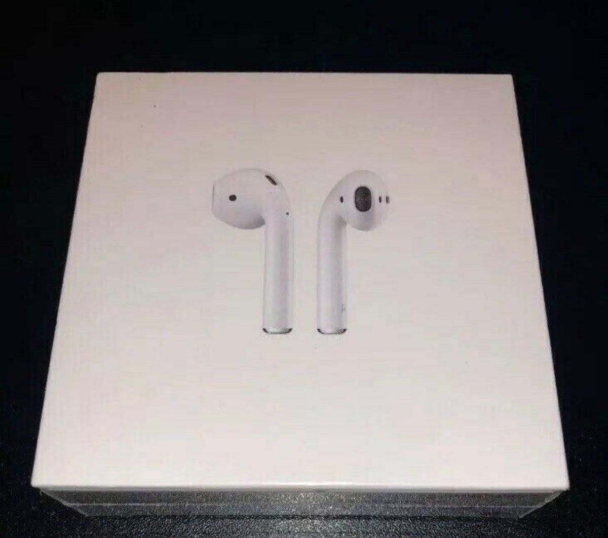 *NO INTERNATIONAL BANK SCAMMERS PLEASE* Genuine Apple AirPods brand new 2nd generation Bought them but changed my mind Want them gone asap Brand new and sealed Free delivery within Manchester