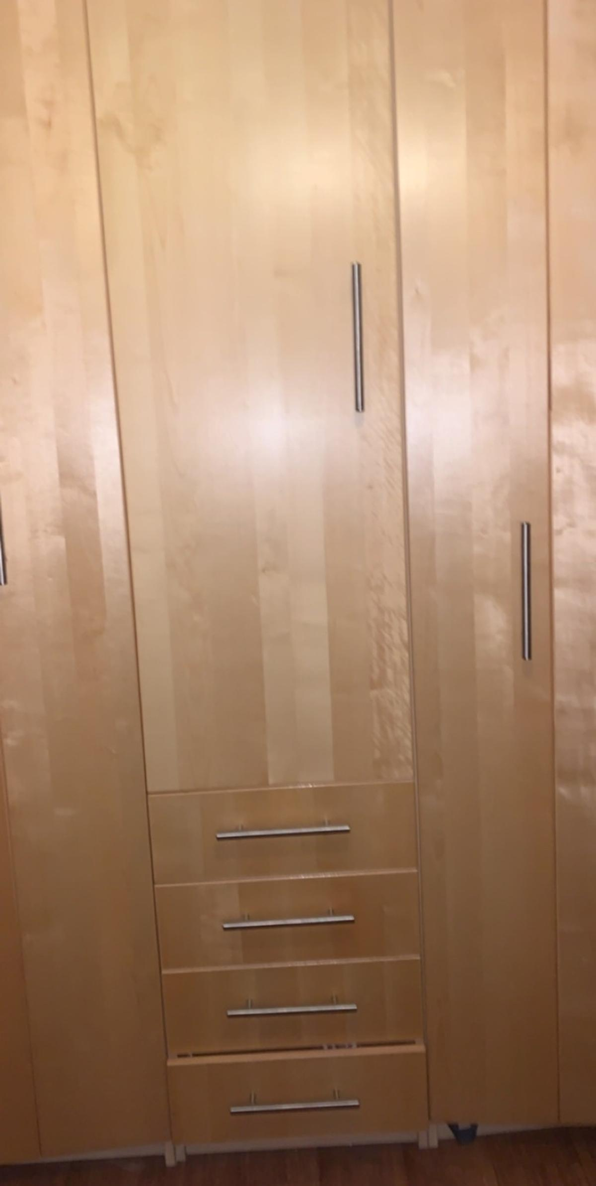 2 or 3 separate tall ikea wardrobes, need gone as they're taking up too much room in my flat, buyer would have to dismantle themselves and it only comes with the screws that are already fitted may be missing some I'm not too sure but stands up ok