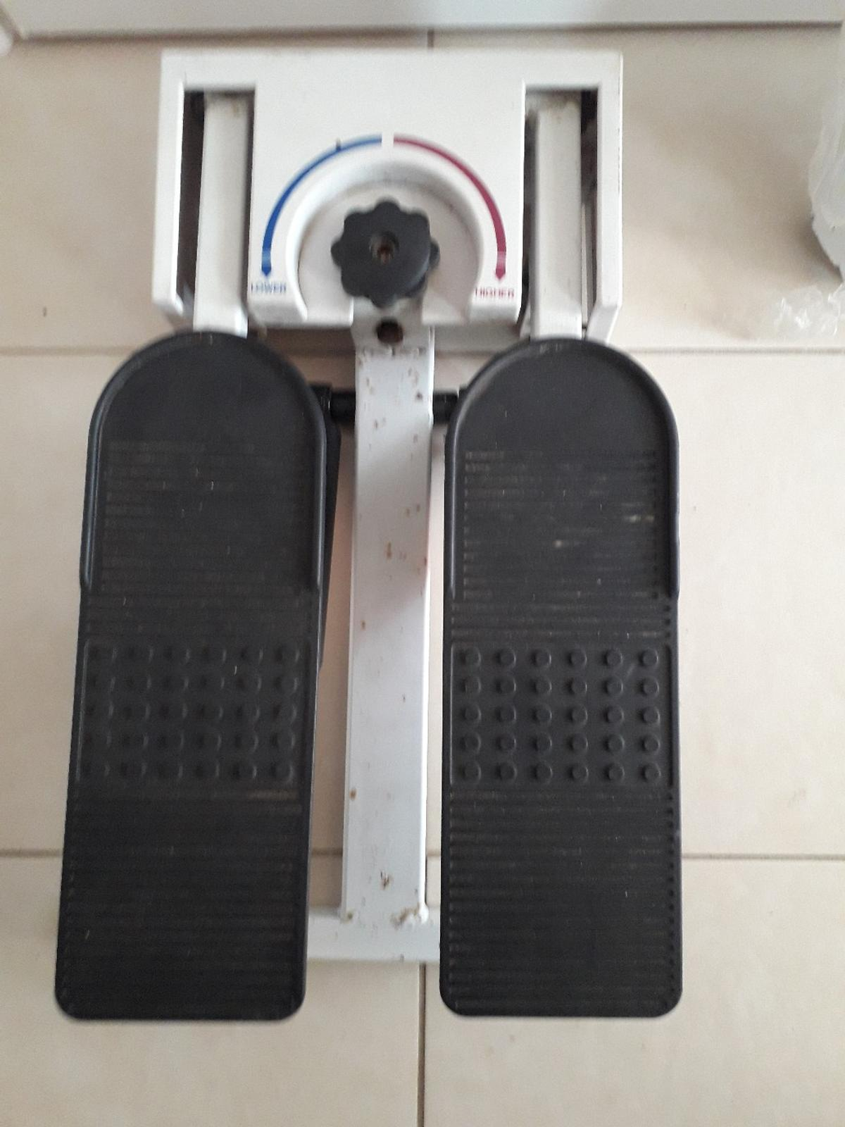 exerciser stepper in working order 5.00 pounds no offers see pictures