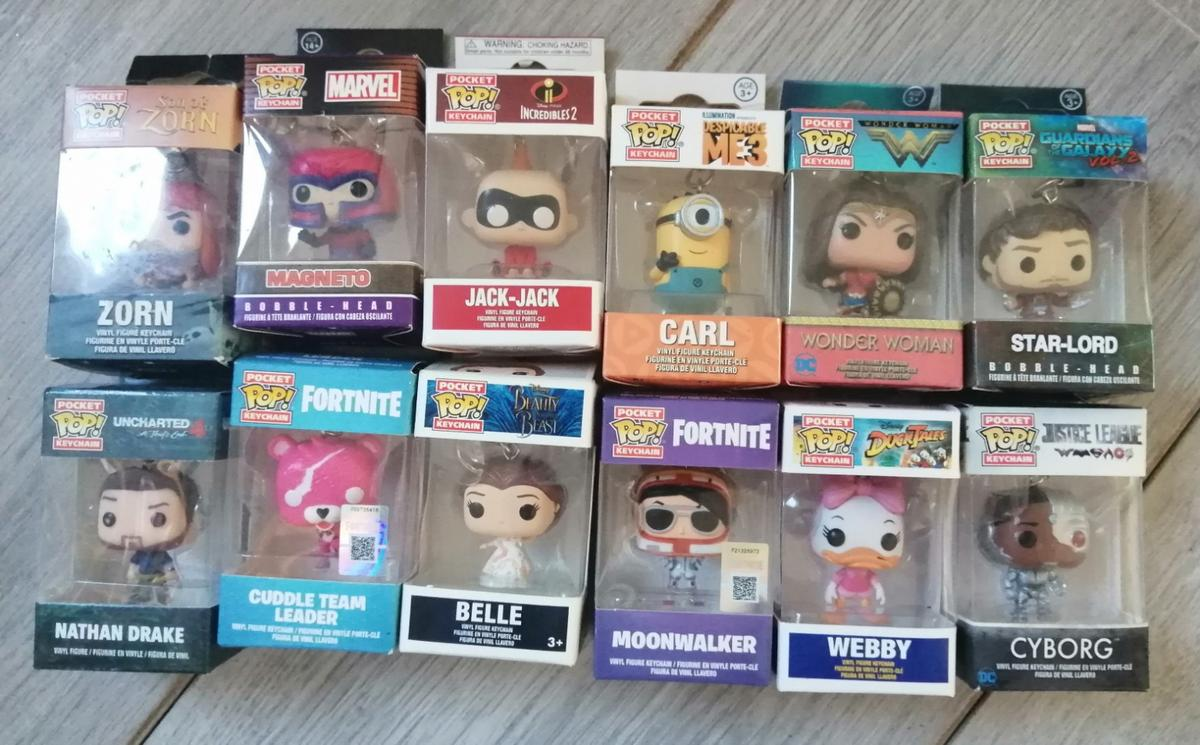 Funko pocket pop vinyls  Various prices please ask for details  Postage available at cost  Will be sent securely wrapped and boxed  Cuddle team leader *** sold *** Nathan drake *** sold ***