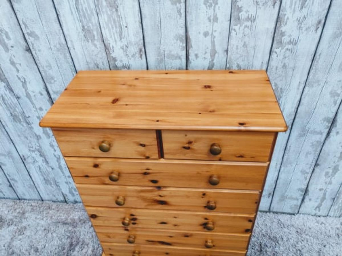 - used in great condition, NO OFFERS please. – made of pine, H107 W83 D38 cm. Collection from Spalding Lincs pe113pe. Thanks