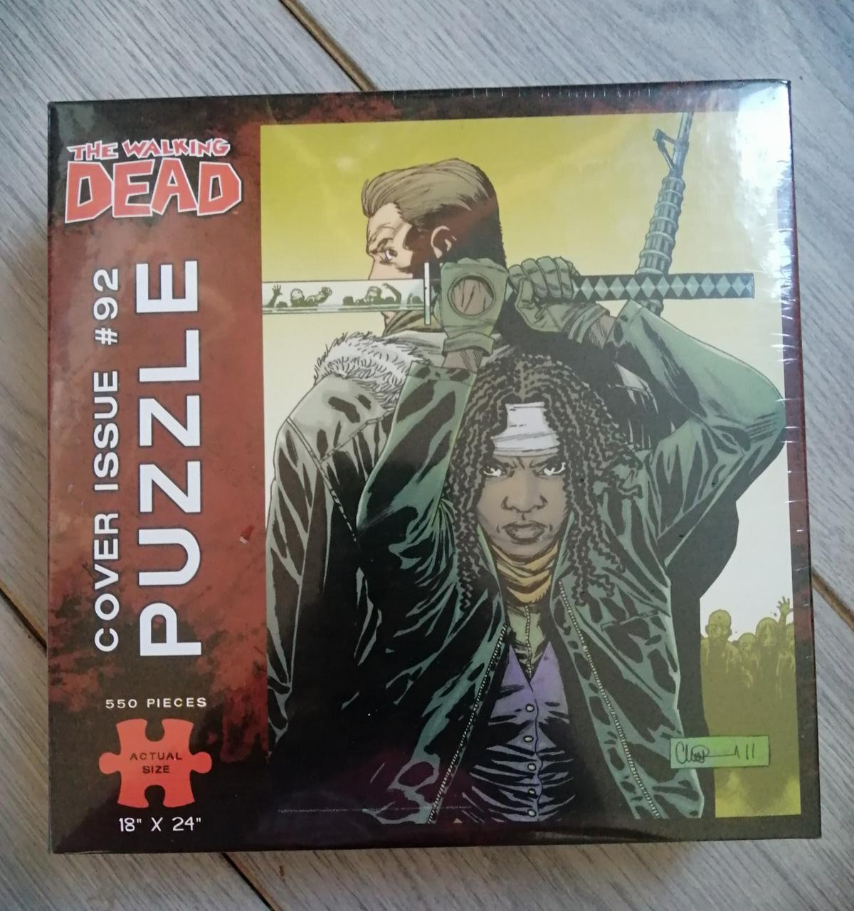 Brand new in box sealed walking dead jigsaw puzzle