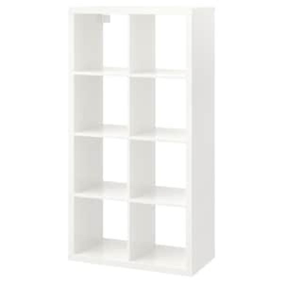 White cube storage. Nearly new condition. £45 new from ikea