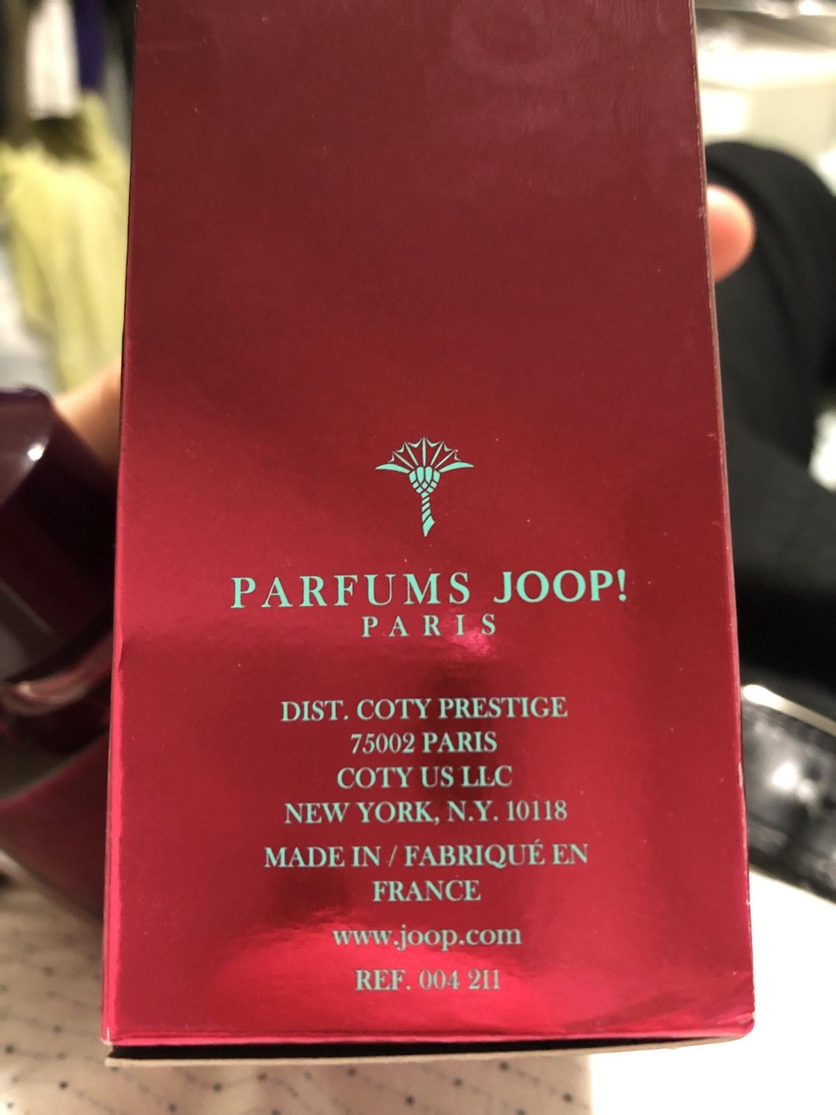 Joop Homme 125ml. Never used but has been opened. Unwanted Christmas gift as don't like the smell