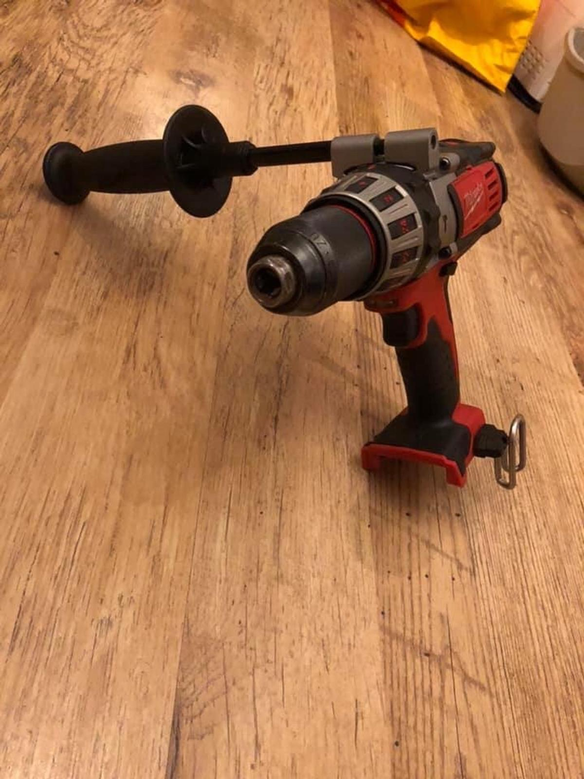 Milwaukee drill model no: HD18PD. No longer needed. Barely used. No battery £60 or with battery for £80 OVNO. Can be seen working, collection only, West End, Woking