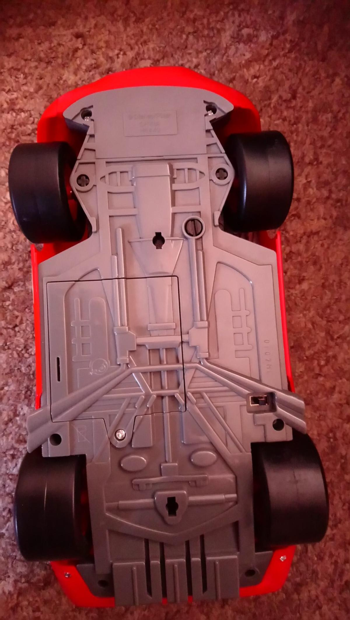 Disney cars lightning mcqueen button controlled, moving, talking car, buttons control the car and it drives and talks, in excellent clean working condition, postage available £3.00 p&p hermes tracked.