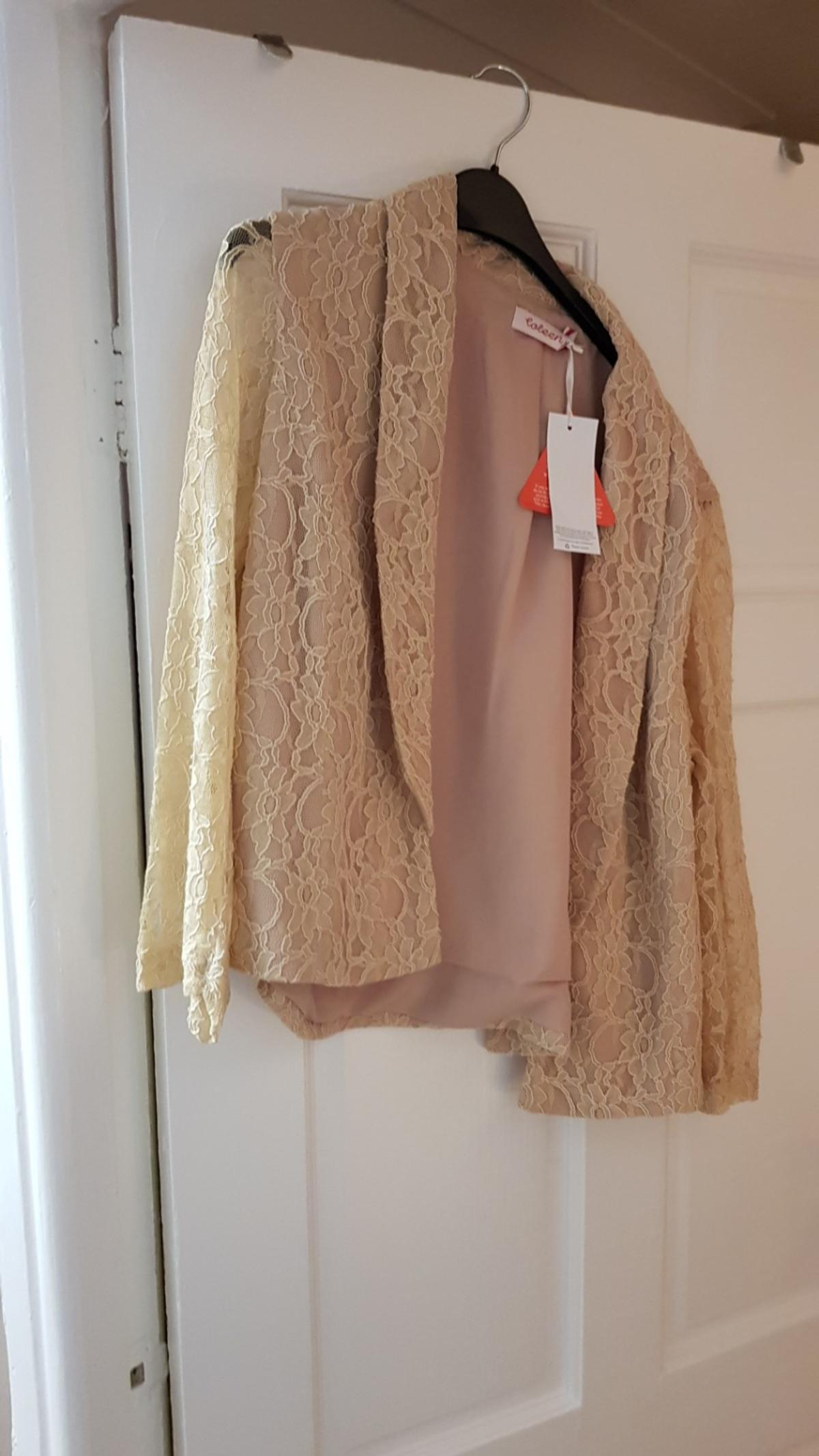lace jacket size14 new with tags