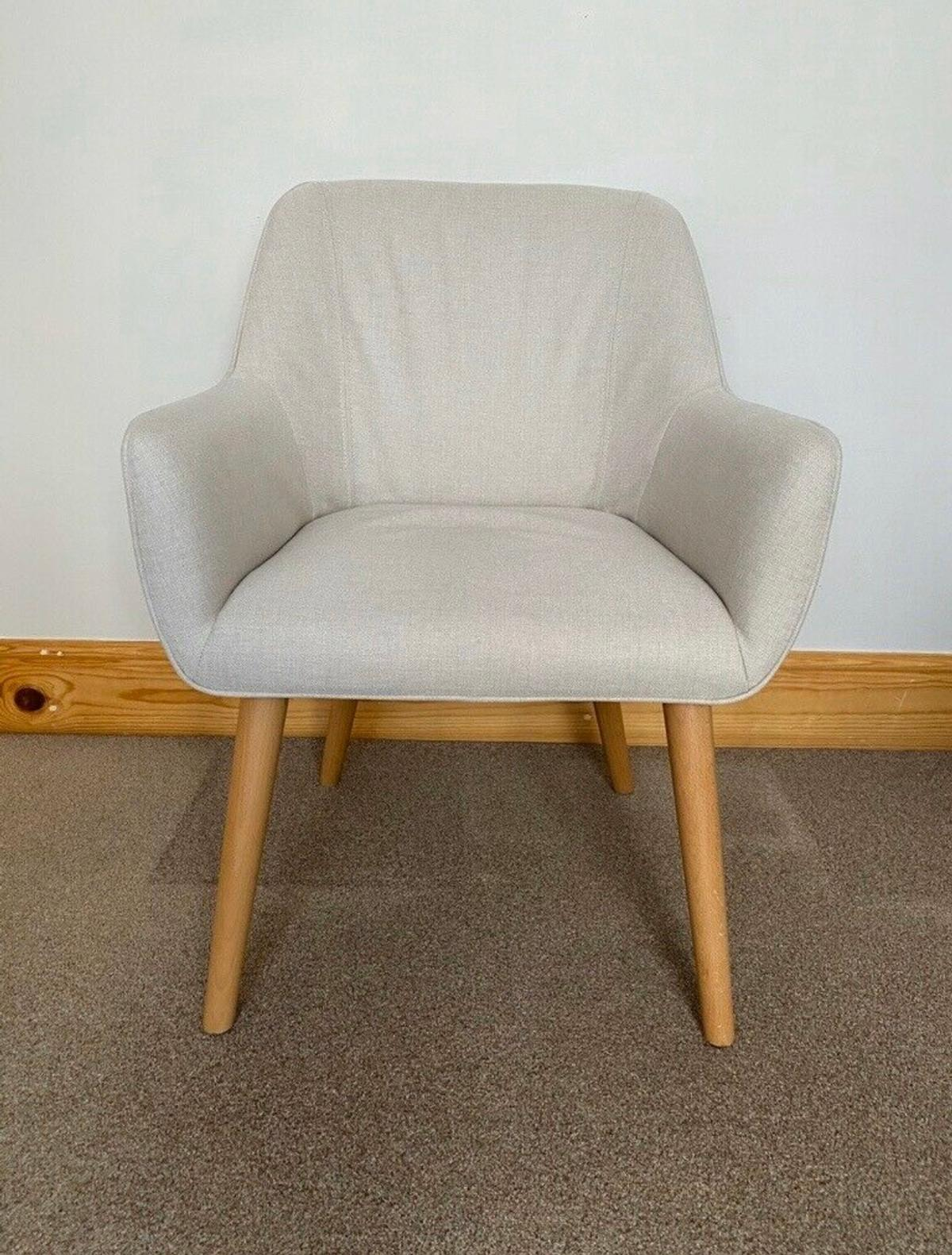 Dunelm Marstrand Chair Natural in LE5 Leicester for £30.00