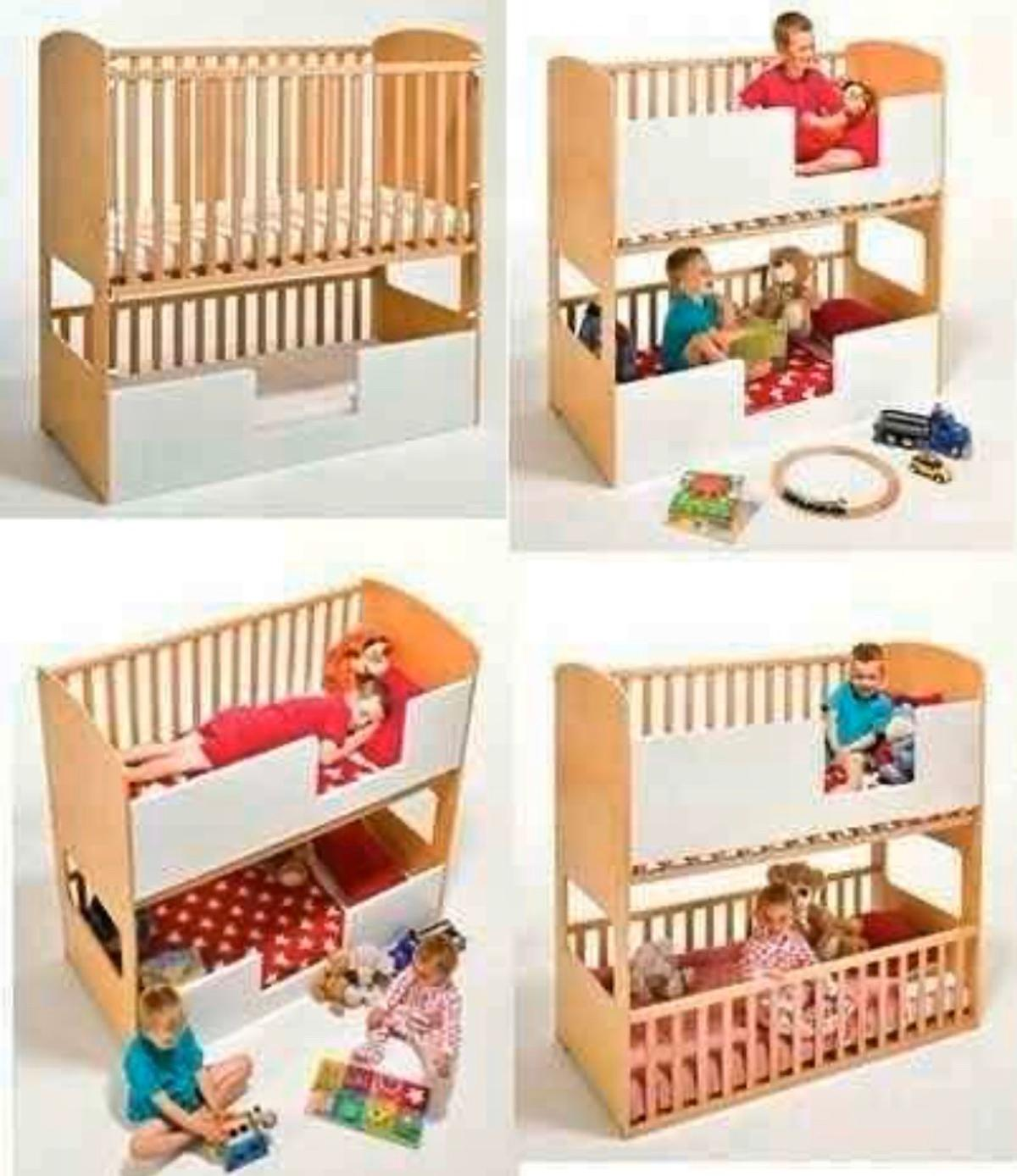 Shanti Cot Bunk Beds Cotbed Co Baby Bunkbed In Sm1 Sutton For 175 00 For Sale Shpock
