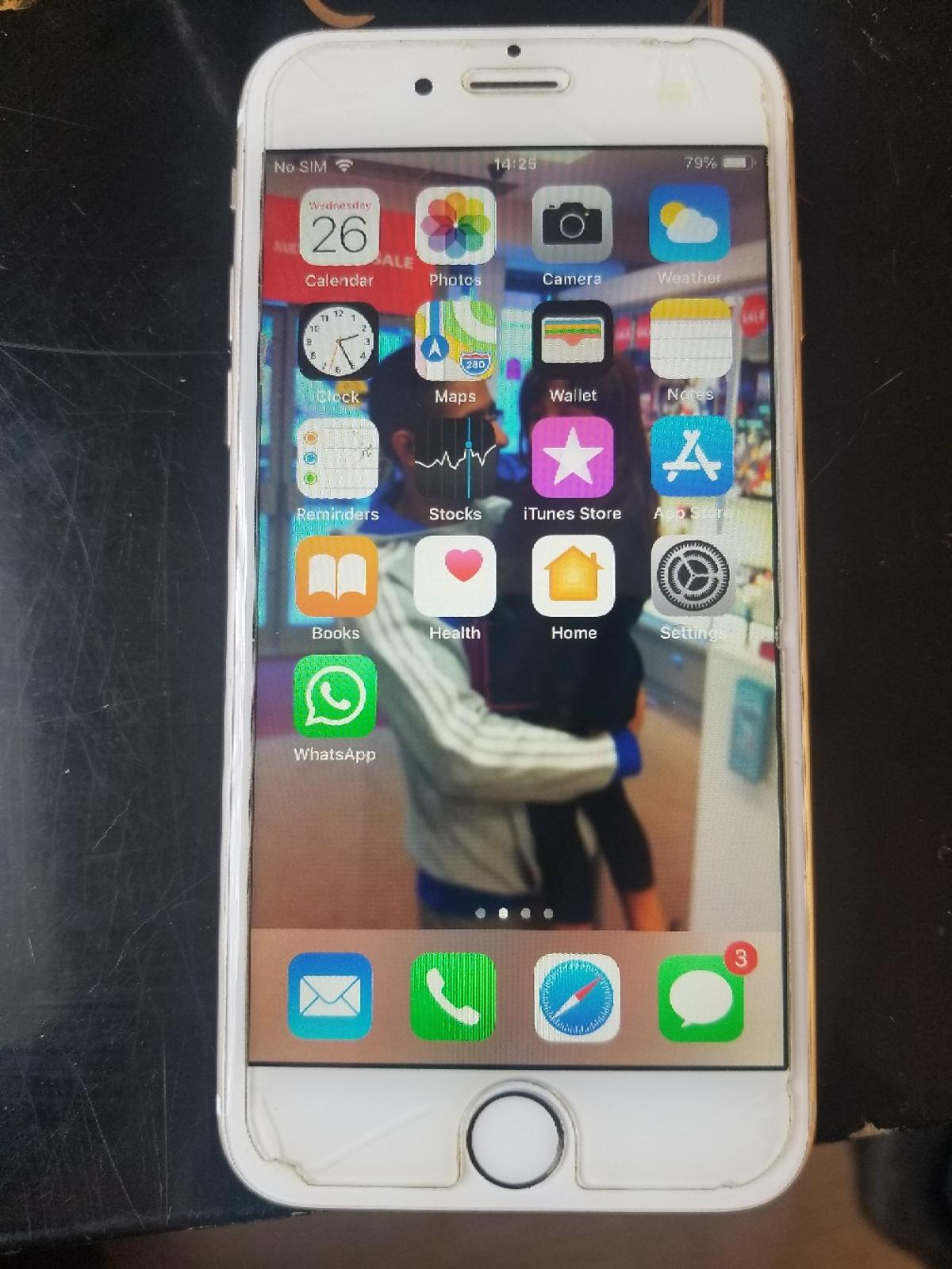 iphone 6 gold 64gb for sale in good condition open to any network