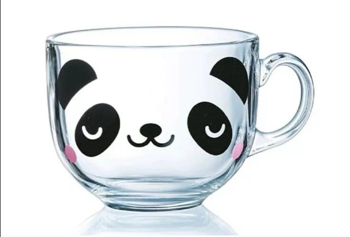 Panda Printed Mug Clear Glass Stylish Coffee In Ha0 Brent For 6 95 For Sale Shpock