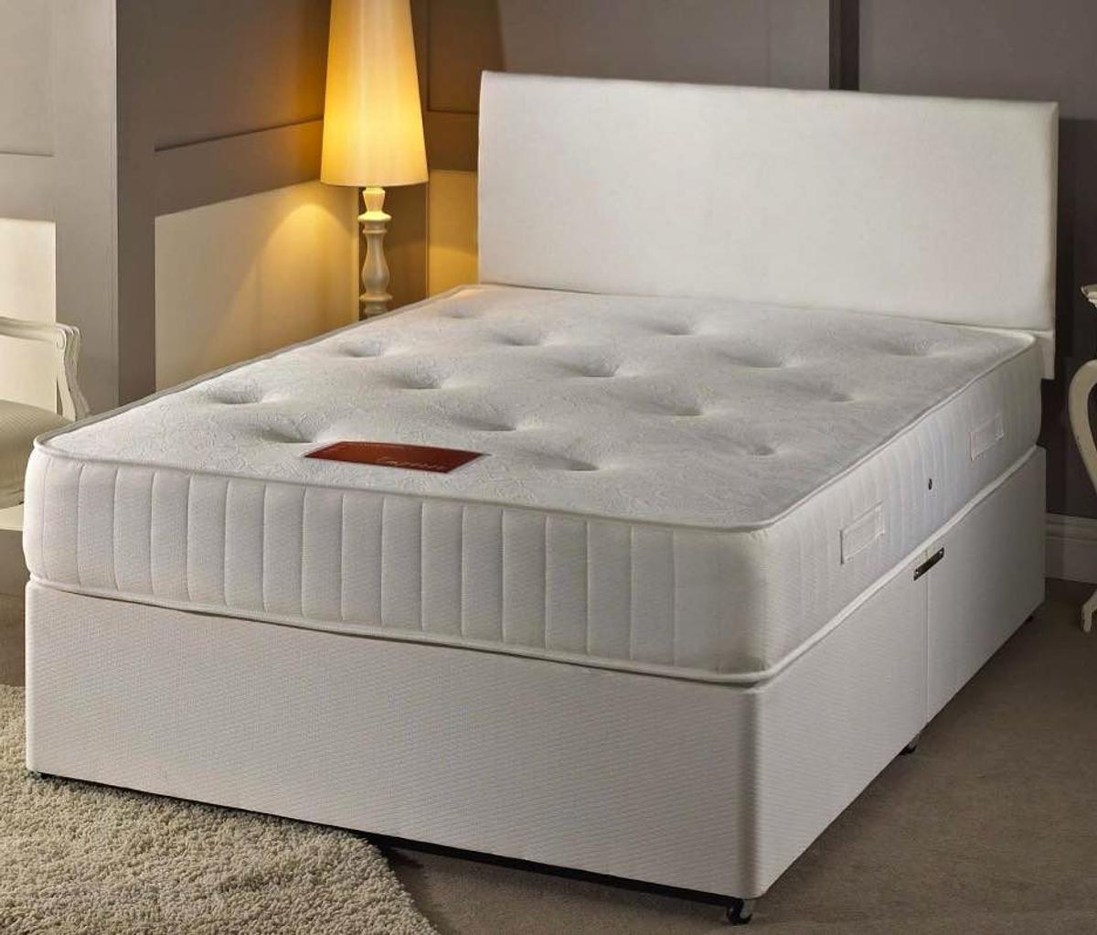 Picture of: Brand New White Leather Divan Beds On Sale In B1 Birmingham For 100 00 For Sale Shpock