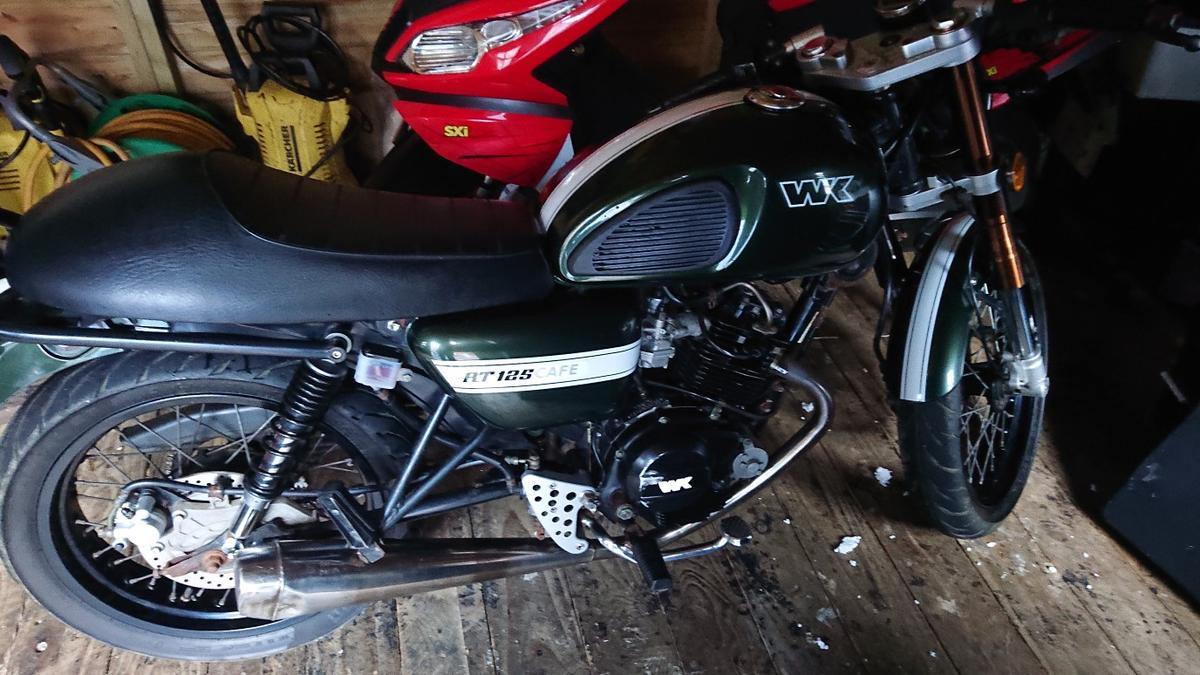 Wk Rt 125 Cafe Racer In Shorpe For