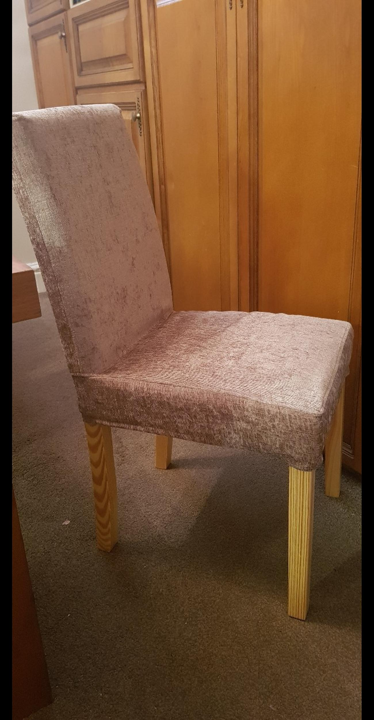 Picture of: Brown Leather Effect Dining Chair 20 Each In M13 Manchester For 20 00 For Sale Shpock