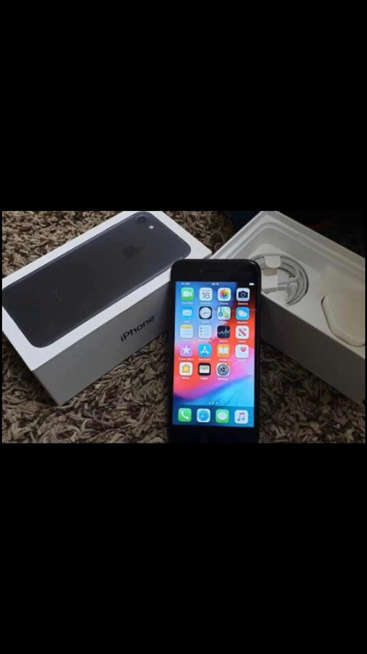 iPhone 7 - Matt Black  V Good Condition  Comes with original box.  Only 1 year old well looked after