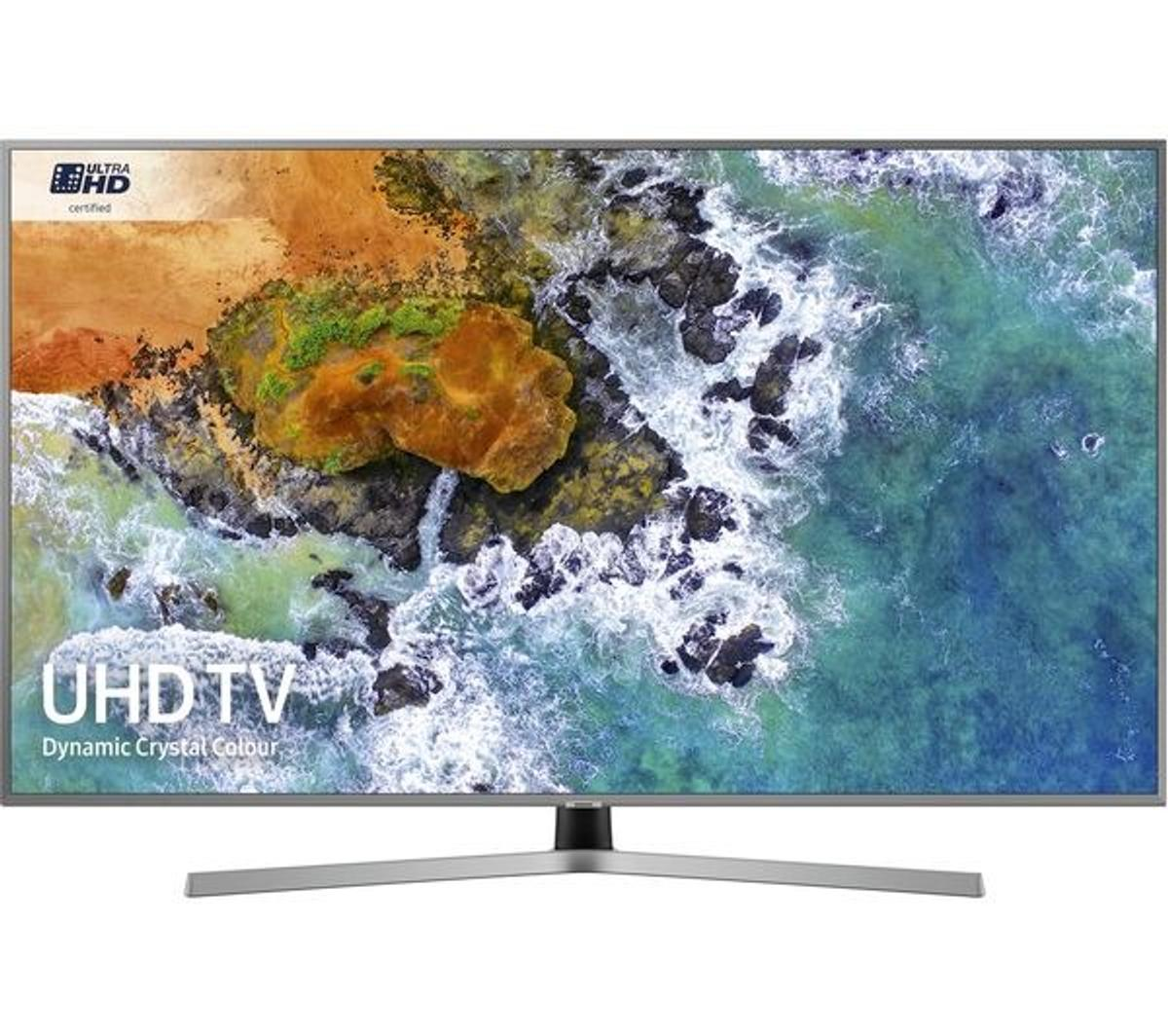 "top of the range 2019 latest SAMSUNG UE55RU7470UXXU 55"" Smart 4K Ultra HD HDR LED TV with Bixby 12 month warranty and option to extend the warranty free setup delivery is available  Supreme UHD Dimming for improved contrast Picture quality: 2000 PQI HDR: HDR10+ / Hybrid Log-Gamma (HLG) TV PLUS / Freesat HD HDMI 2.0b x 3"