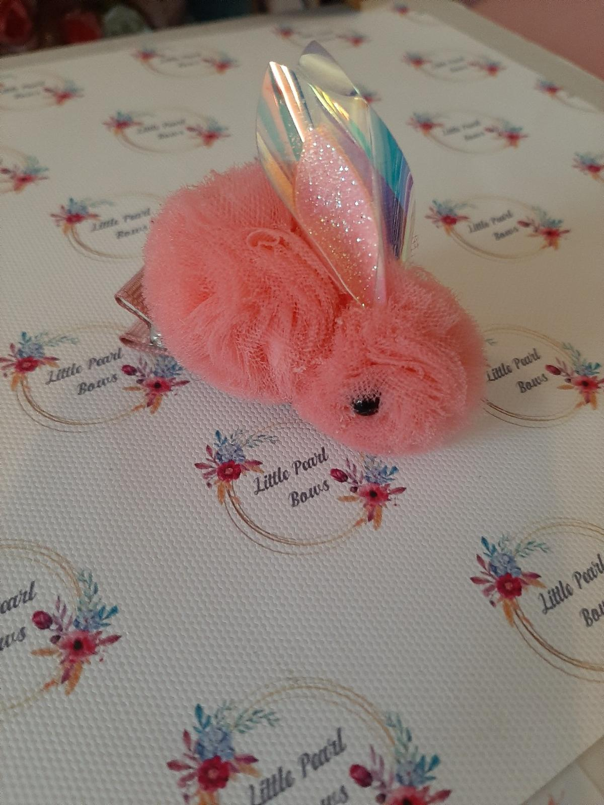 Handmade Tulle Bunny Hairclip Only This One Available Last One Rest Have Sold Out Collection or Postage Extra