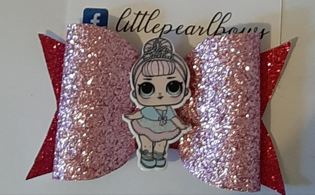 Smal LOL Hairbow 1 Available To Buy Now Collection Or Postage Available for Extra All Hairbows are Handmade & Handcut Payment by PayPal Friends and family or bank Transfer