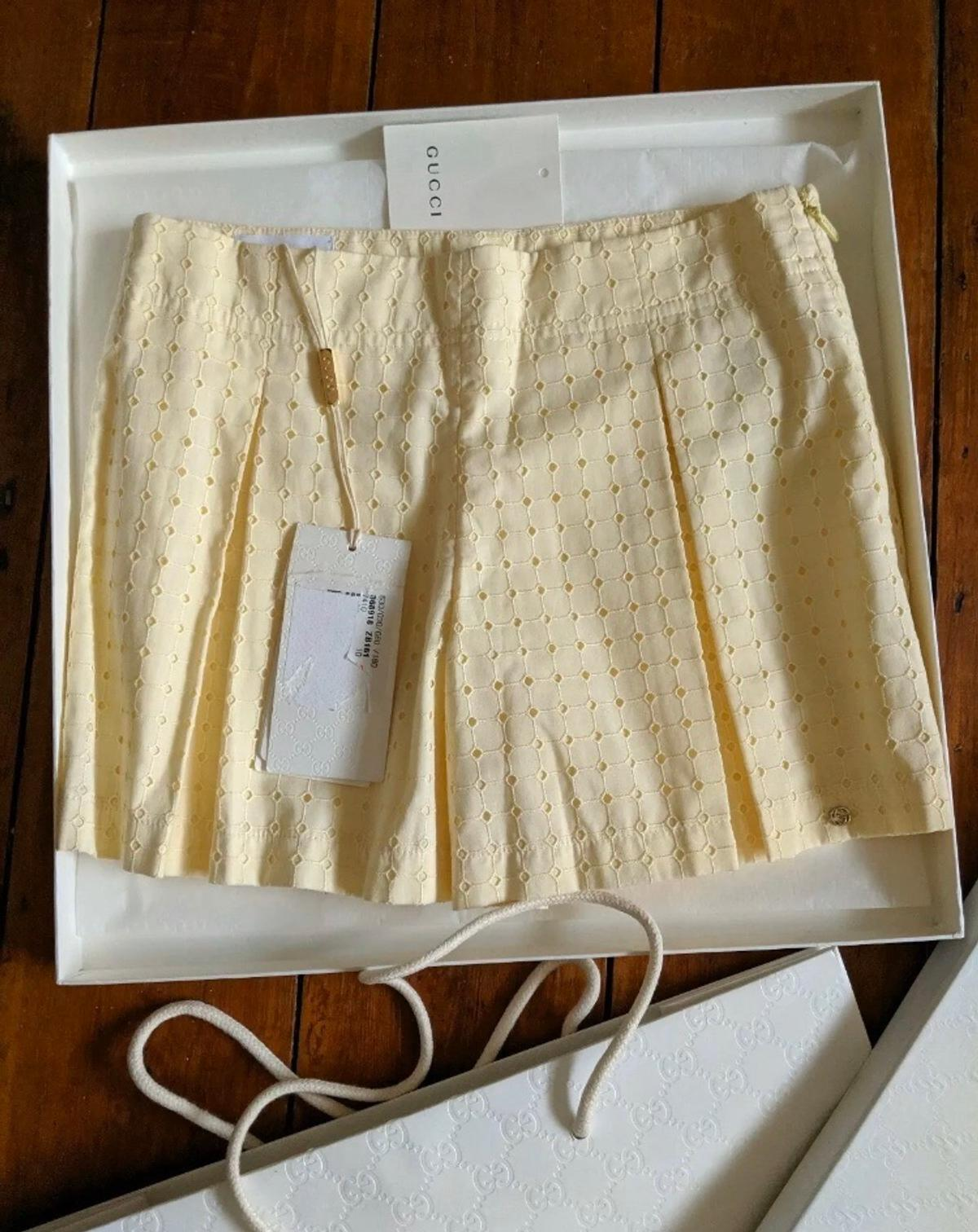 Gucci Girls Skort Shorts Skirt Age 10. Condition is New with tags. Dispatched with Royal Mail 2nd Class