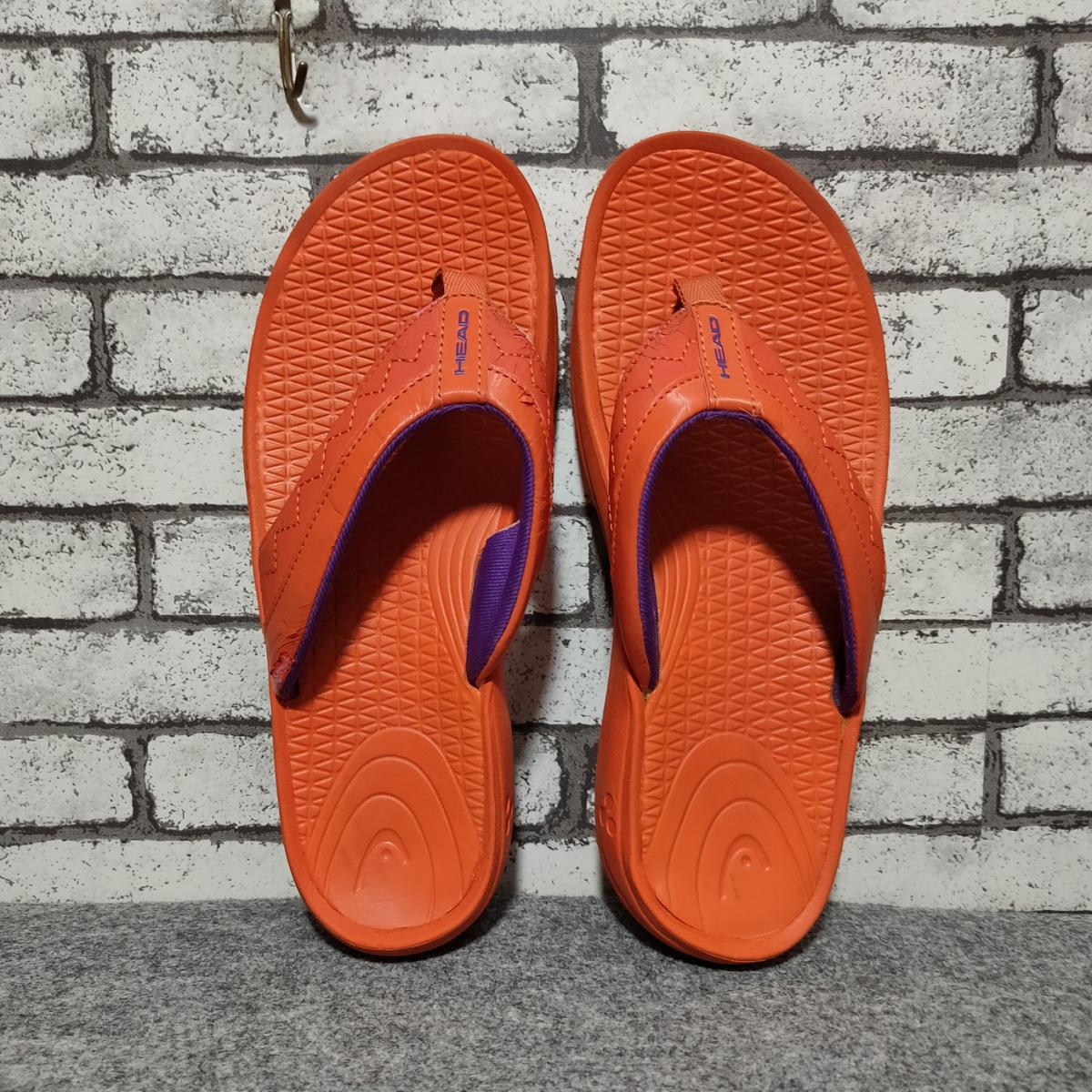 🔥 Head flip flops 📍size Eur 38 24 Cm ————————————————- When paypal complete. We ship within 1 day. We ship economy courier ,please wait 12-24 day to arrive or request for special shipping take within 7 day The item will be ship along with tracking number Thank you so much