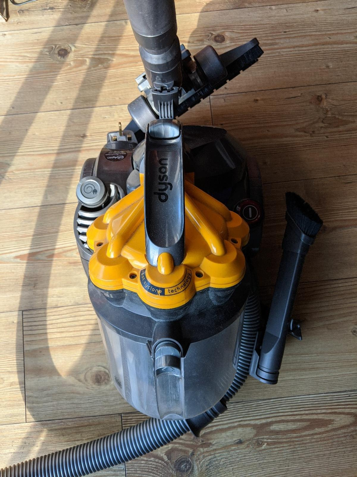 DYSON DC19 Root Cyclone Technology Vacuum. Condition is used, but in perfect working order.