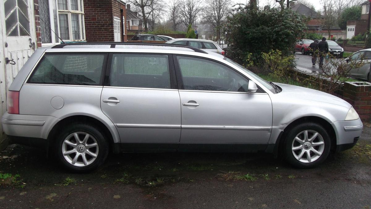 2006 VW Passat Estate 1.9 TDI  1 Key 210k miles, MOT until 07/20 Leather Interior Central Locking Electric Windows Alloy Wheels CD Stereo Air Conditioning Towbar Starts and Drives O.K Some Vehicle History Bodywork o.k. some marks on offside front wing and bonnet otherwise a tidy vehicle. Glovebox wont close.  Sold as Seen  Offers Welcome 07916229559  575.00 ono