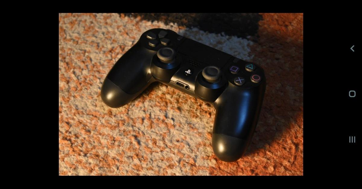 like new playstation 4 controller used twice.