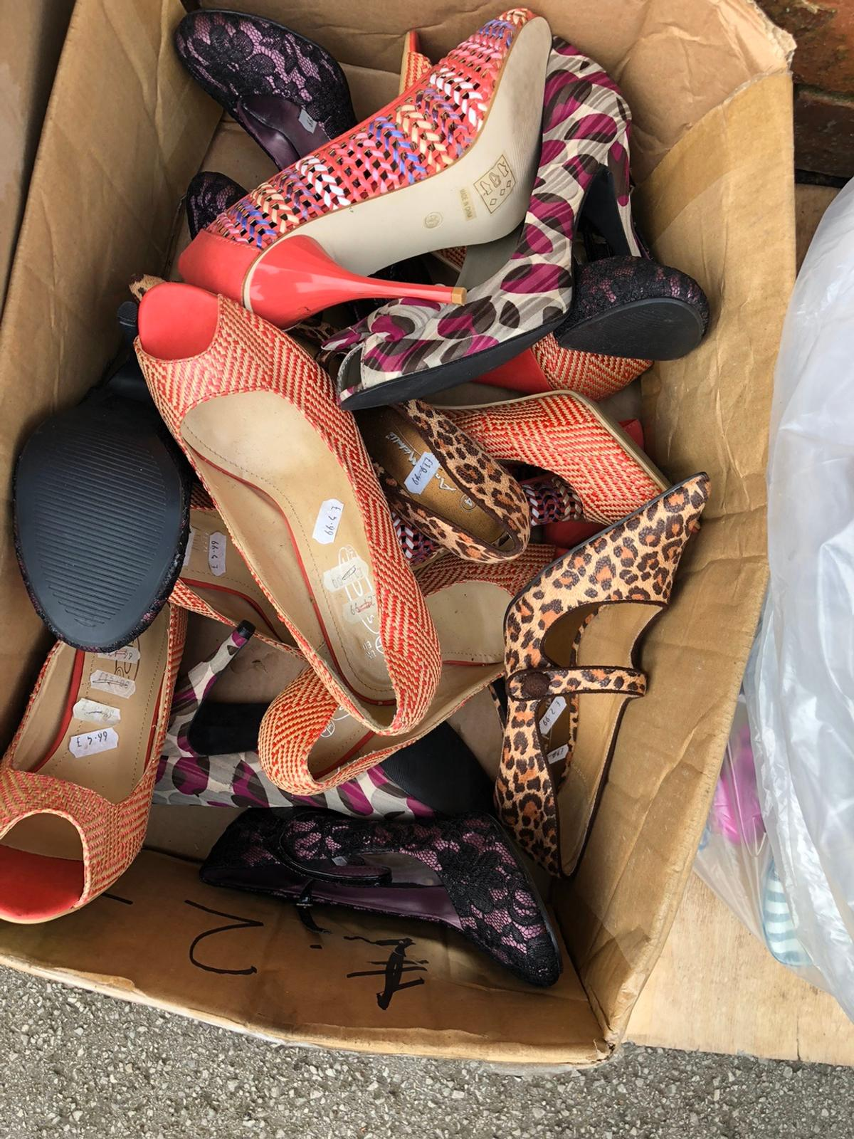 Mixed ladies and kids 100 pairs New but no boxes No timewasters expecting high street brands