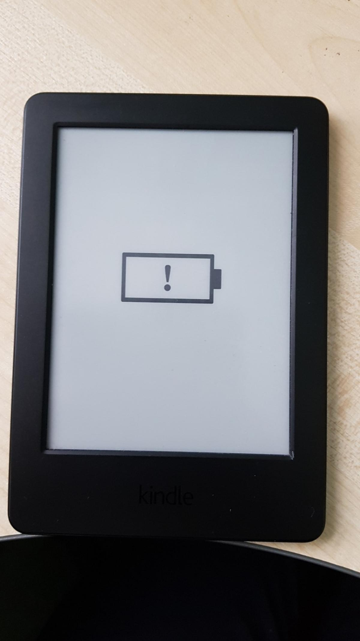 Black Amazon Kindle Hardly used Collection only