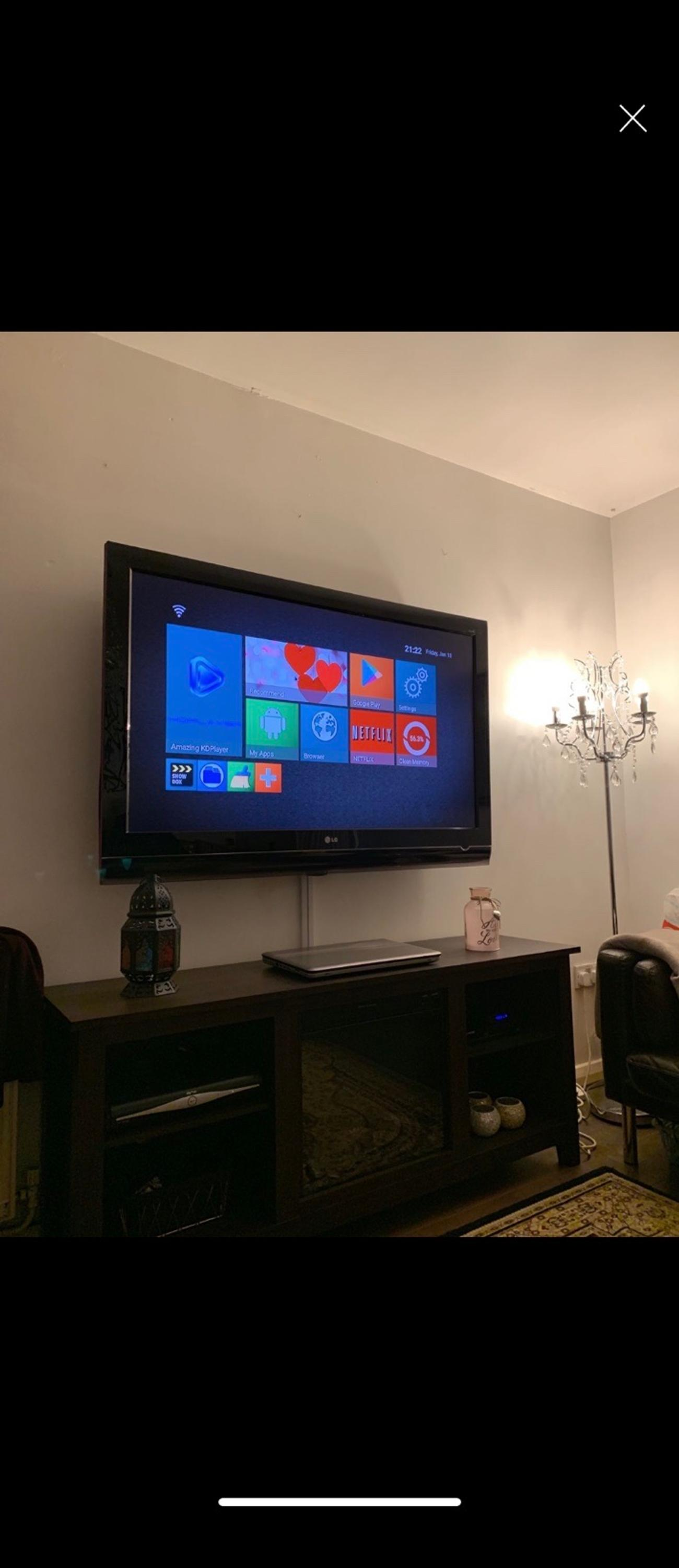 Lg tv for sale - 52inch  Perfect condition and works great, still has stickers on tv.  THIS IS NOT A SMART TV.
